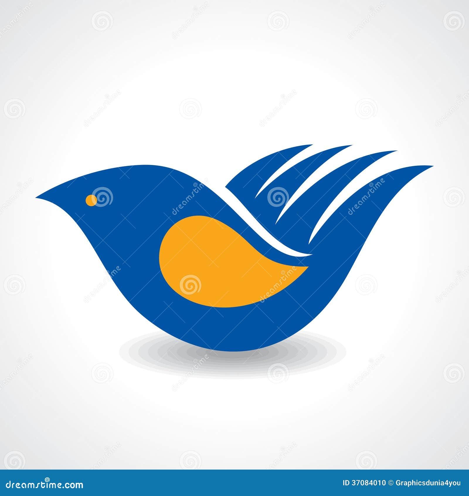 Download Kreatywnie Pomysł - Ręka Robi Ptasiej Ikonie Ilustracja Wektor - Ilustracja złożonej z human, gołąb: 37084010