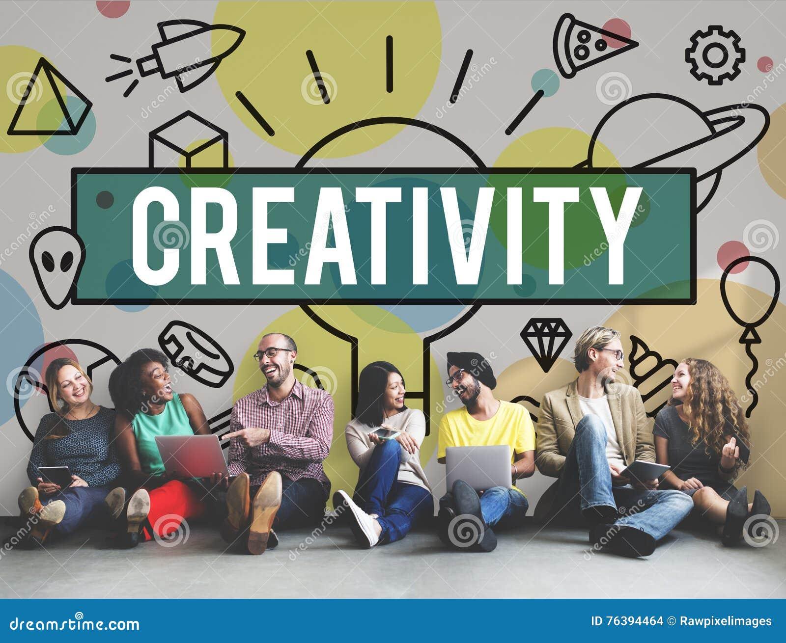 Kreatywnie twórczość Inspiruje pomysł innowaci pojęcie