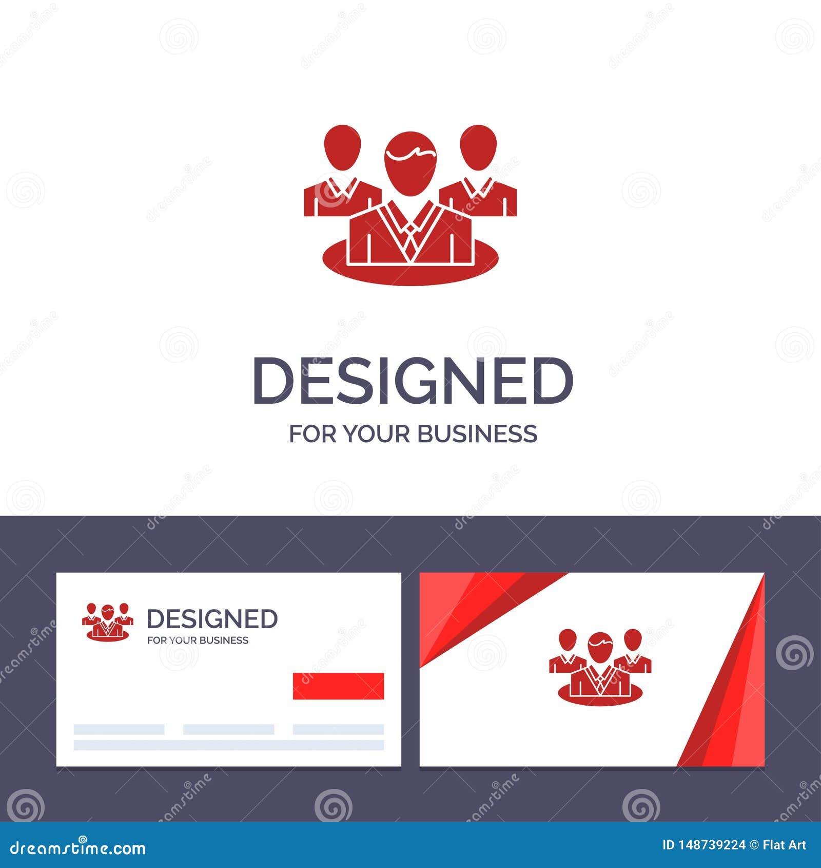 Kreatywnie wizytówki i logo szablonu grupa, gadka, plotka, rozmowa wektoru ilustracja