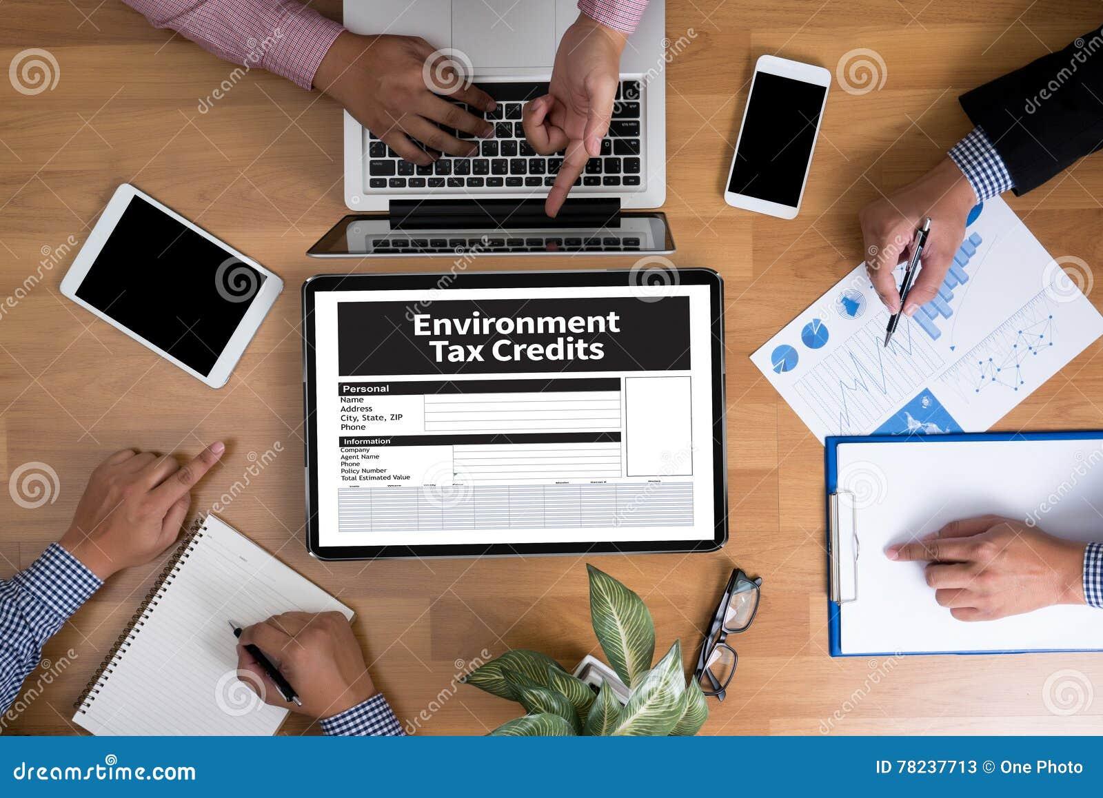 Krediteringar för form för miljöskattelättnaddokument