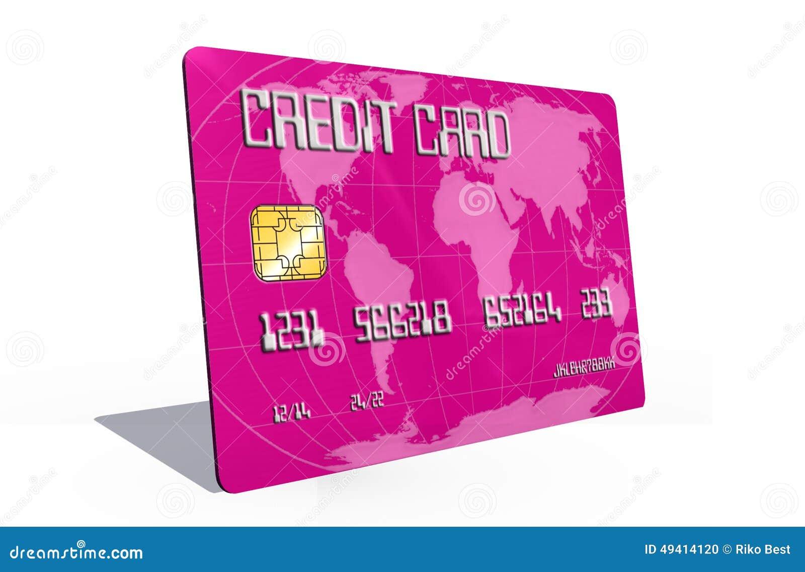 Download Kreditkarte Auf Weißem Hintergrund Stock Abbildung - Illustration von sicherheit, karten: 49414120