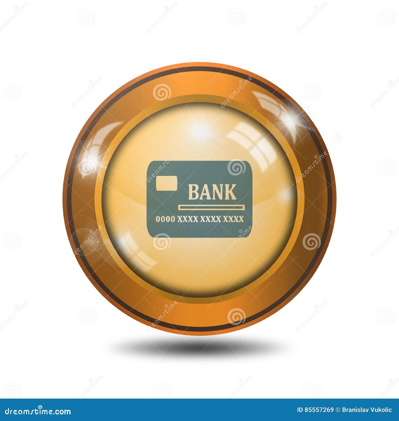 Kreditkarteikone, Zeichen, Illustration