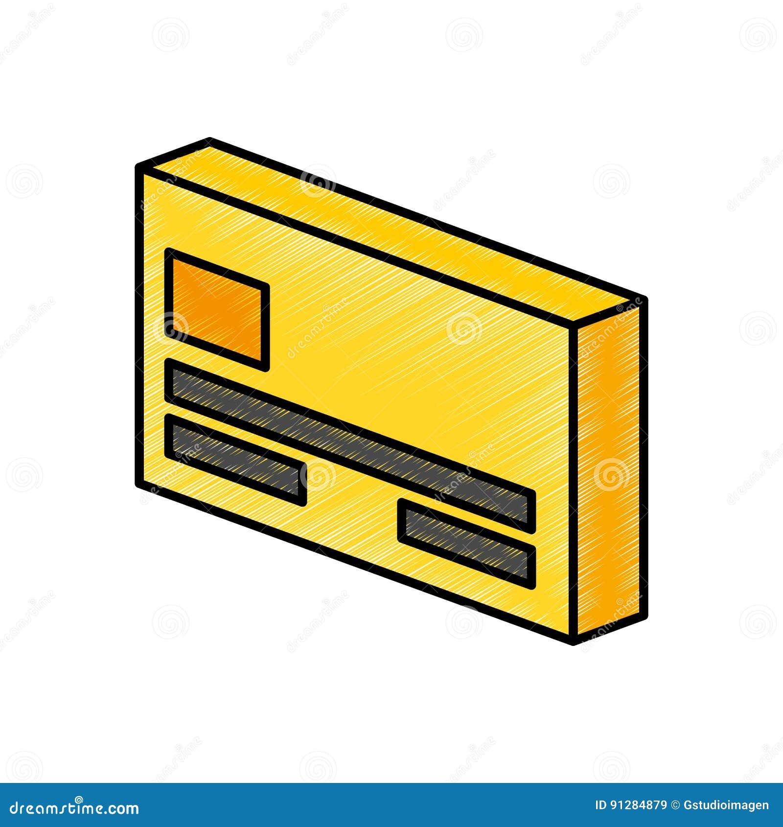 Kreditkort isolerad symbol