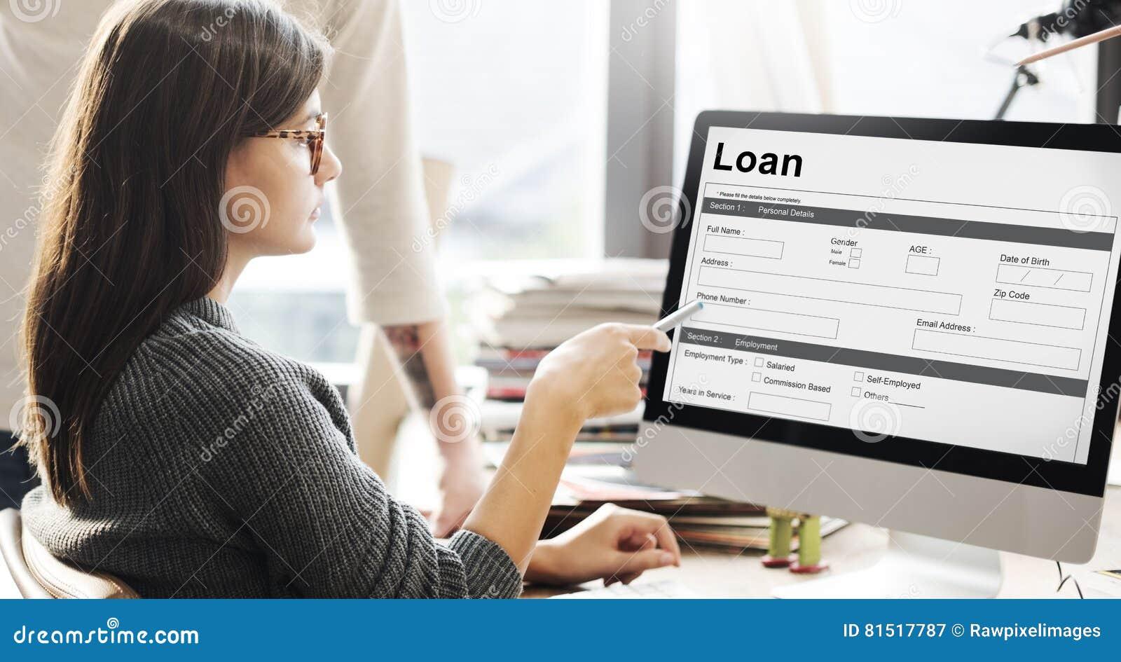 Kreditvorlage-Hypothekenbetrag-Konzept Stockbild - Bild von ...