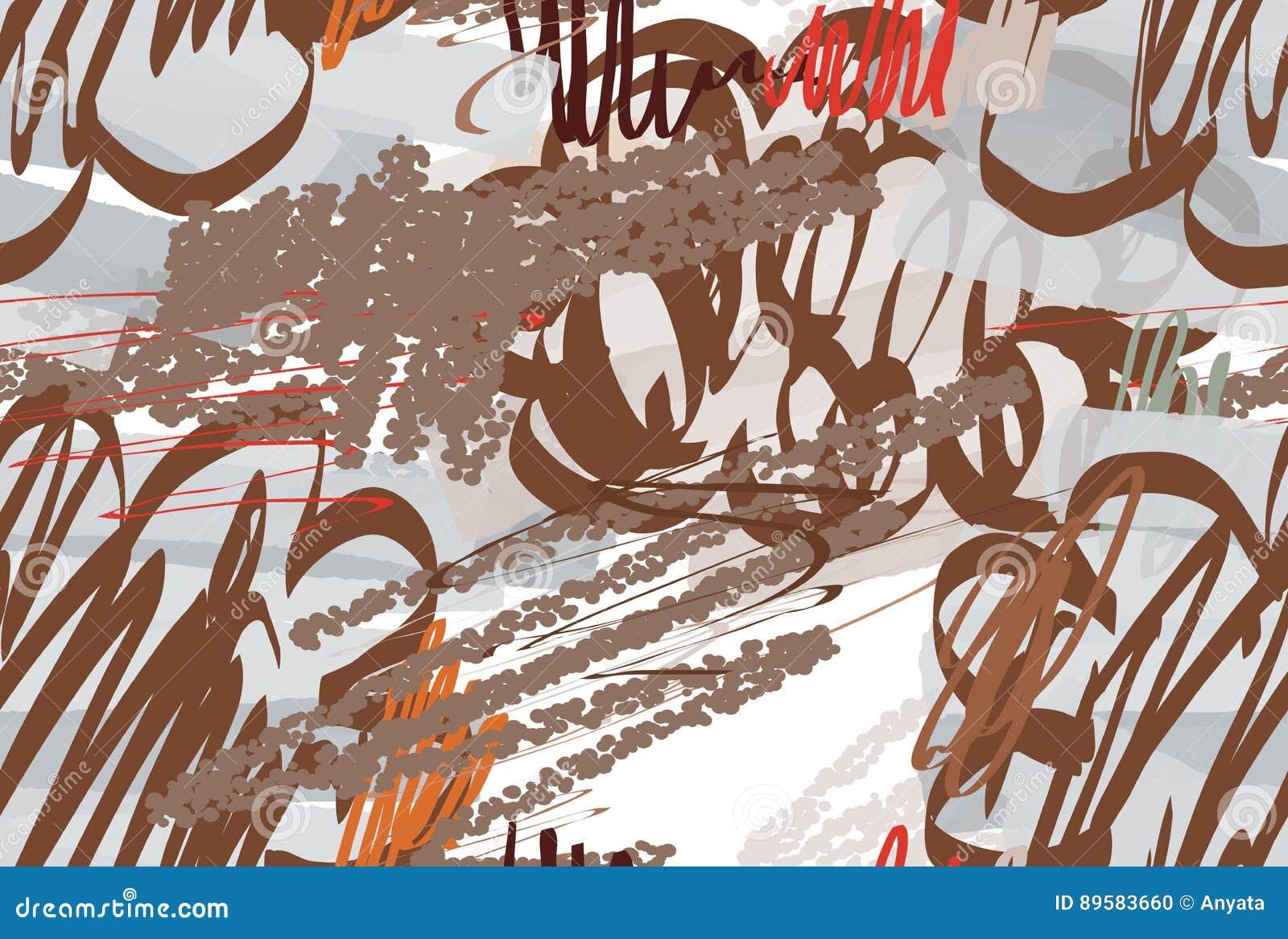 Kredki textured doodles z abstrakta markierem i chmurami szczotkują