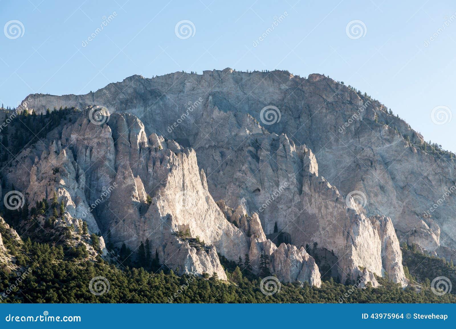 Kredowe falezy Mt Princeton Kolorado
