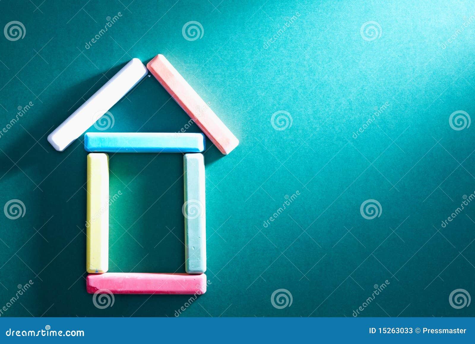 Kredowy dom