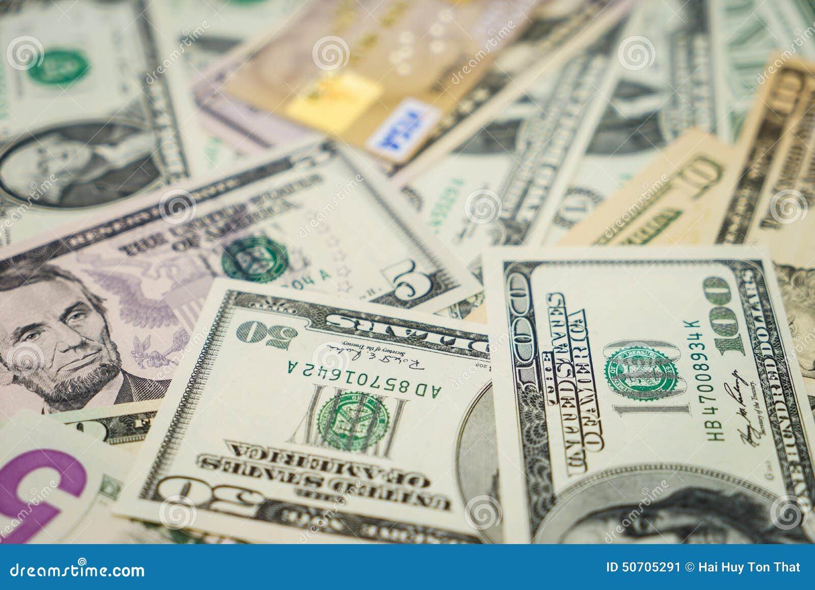 Kredytowa karta i dolary
