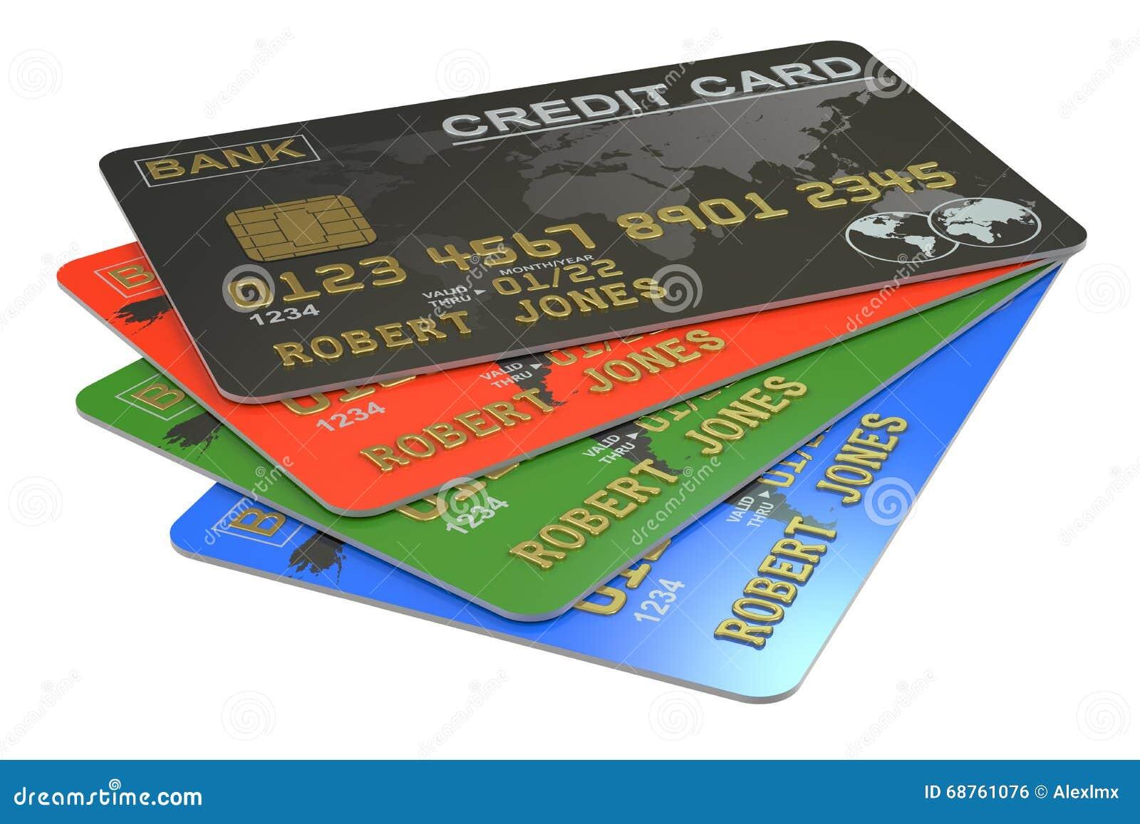 Kredytowe karty 3D