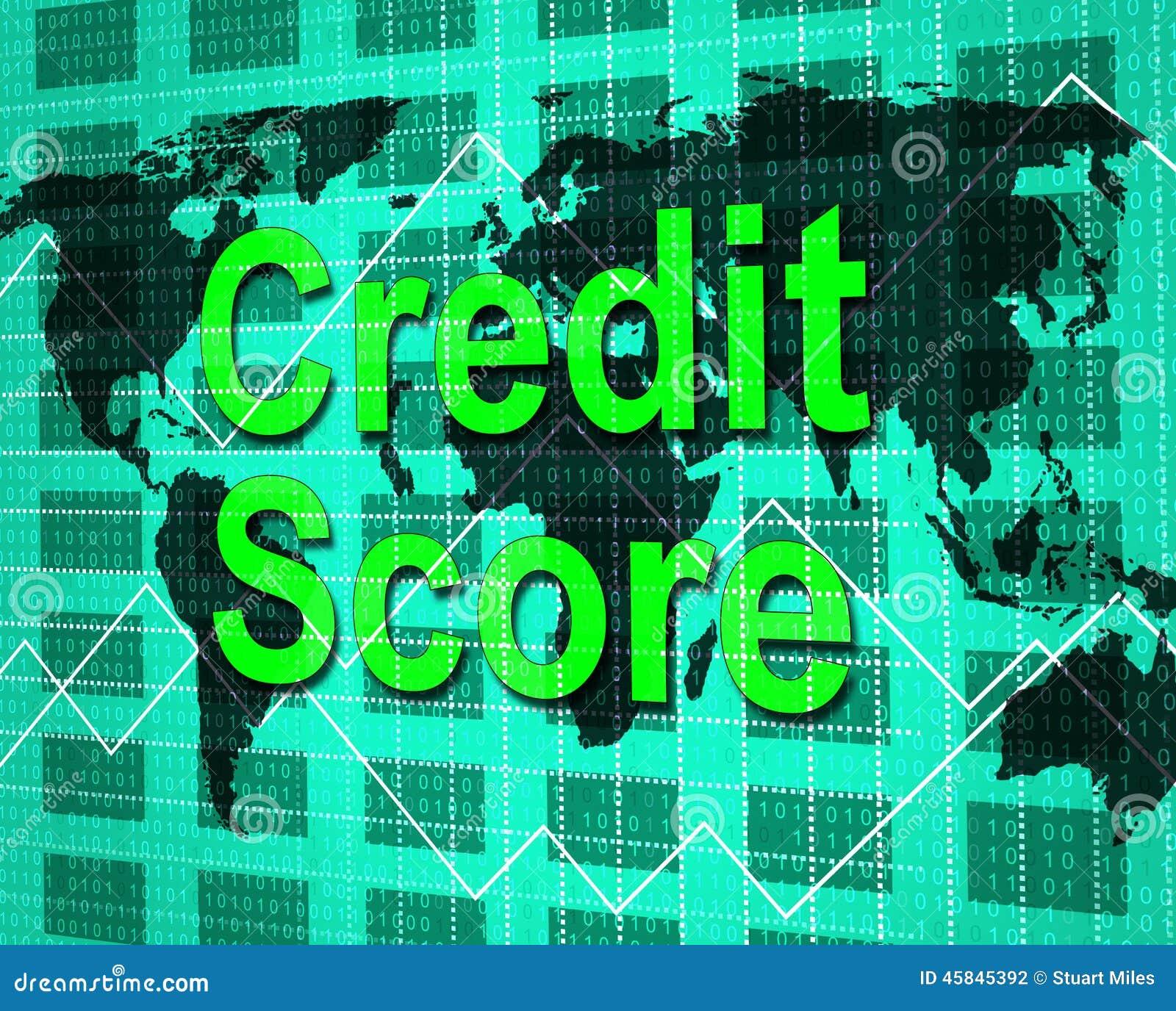 Kredytowy wynik Znaczy kartę debetową I Bankcard