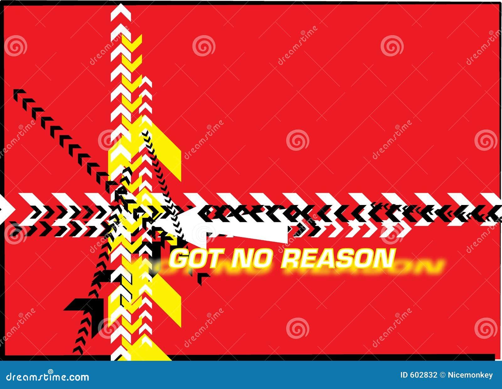 Kreeg geen reden