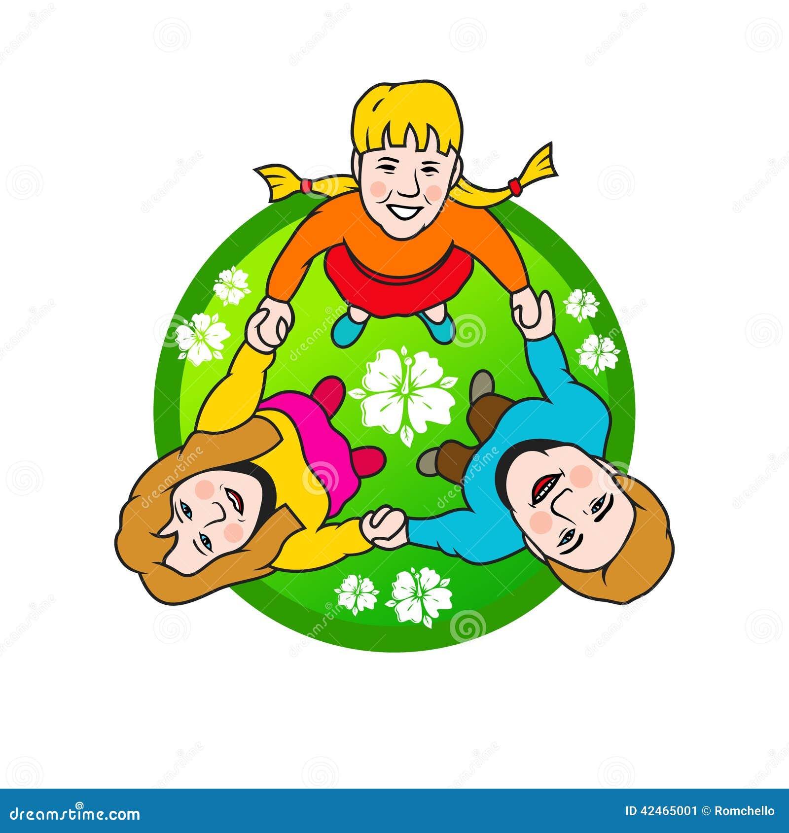 Kreis der Familie-Zeichen