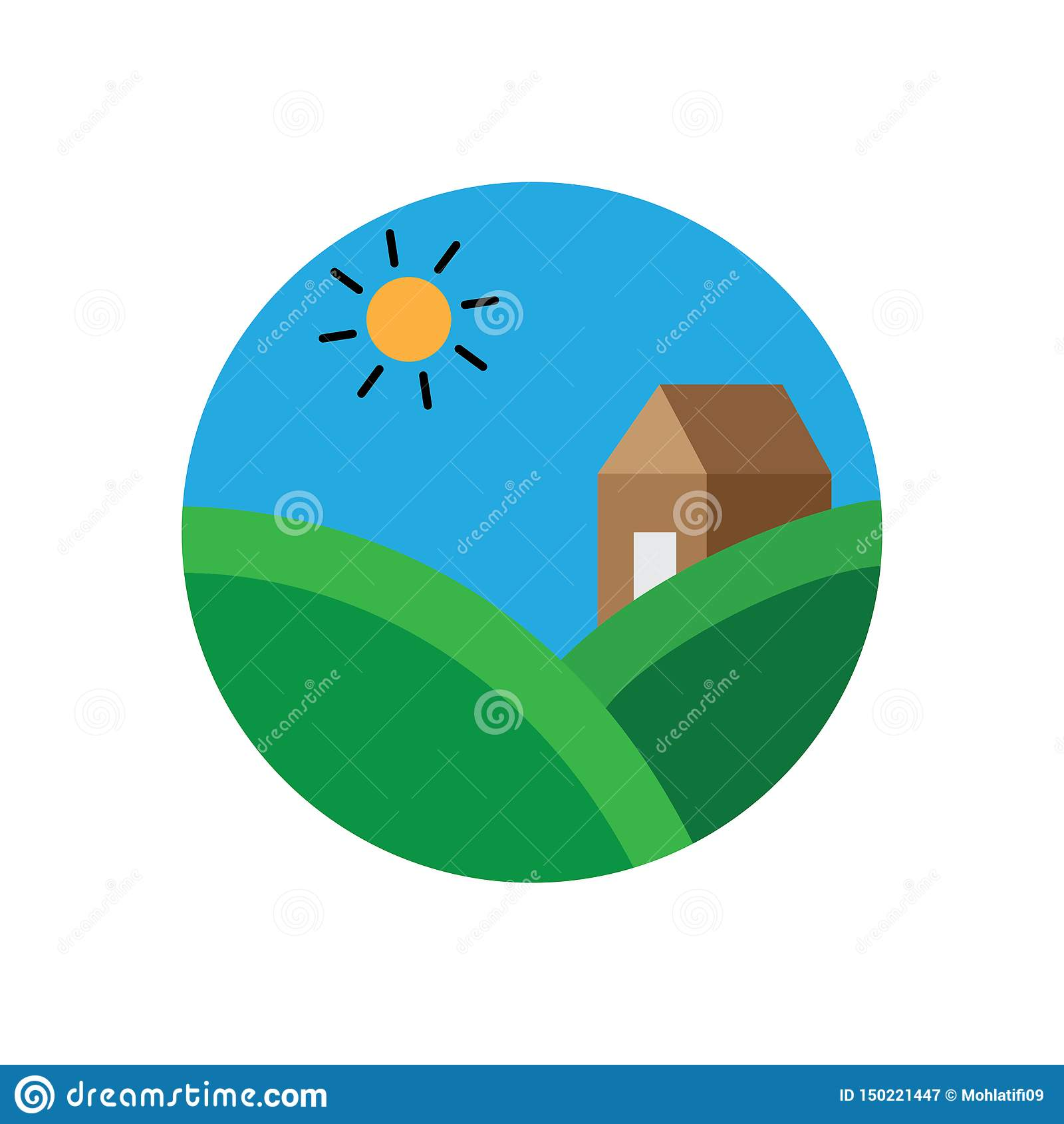 Kreis Landscap Logo Design