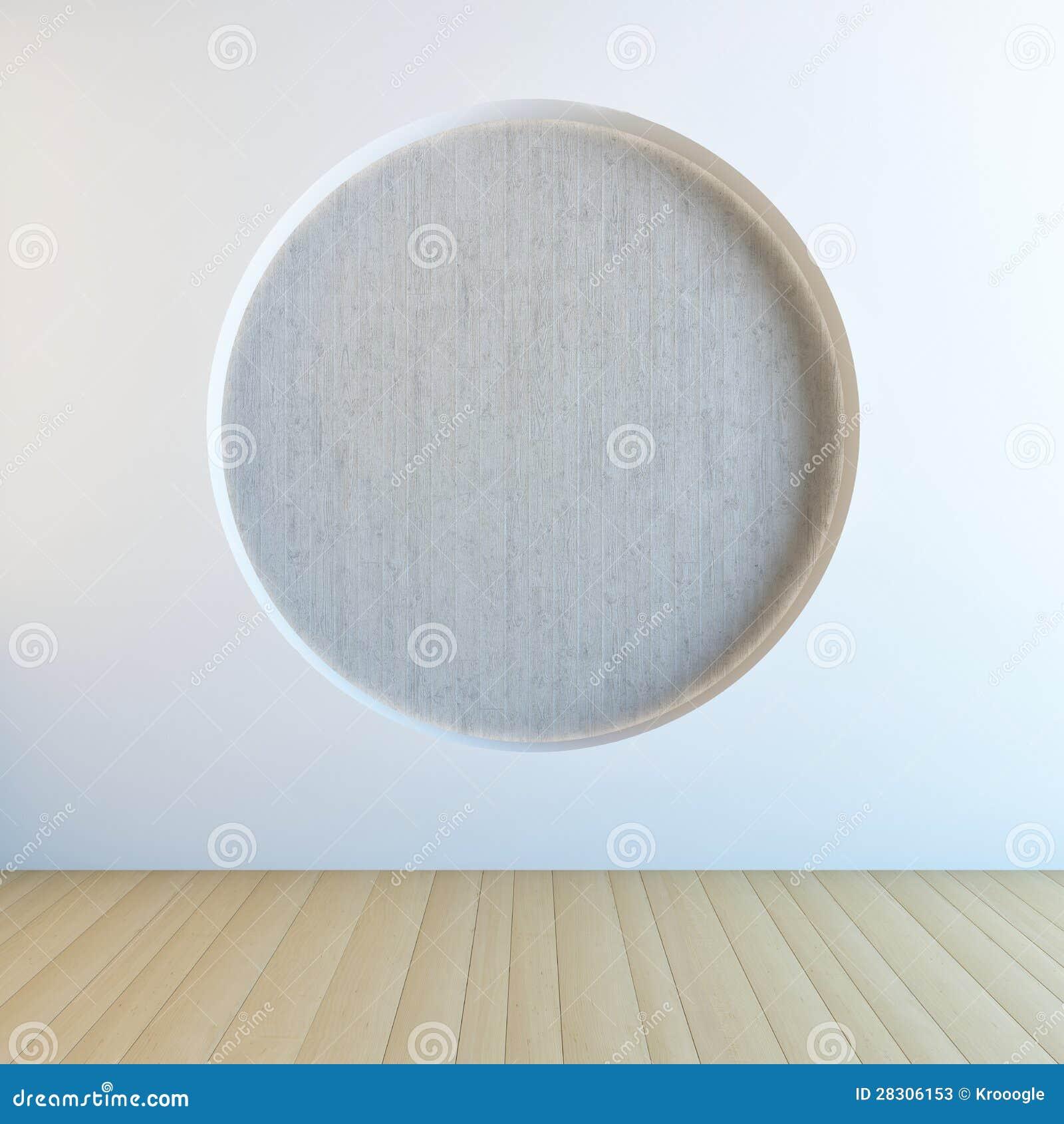 Kreisen sie wand ein stockfotos bild 28306153 for Loch im boden 3d