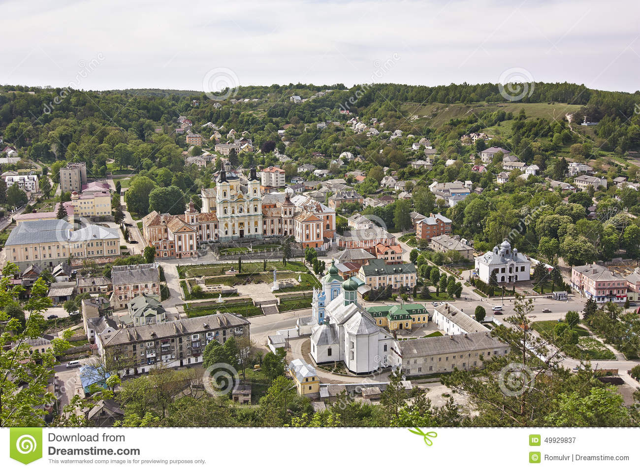 Optics of the Ternopil region: a selection of sites
