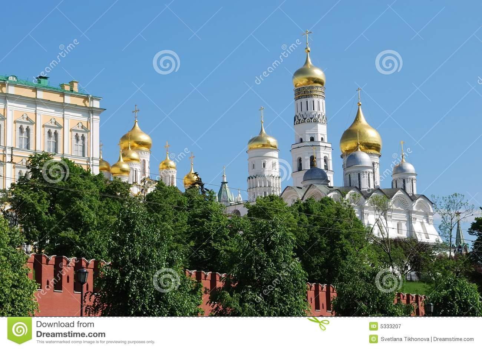 Kreml Moscow katedry