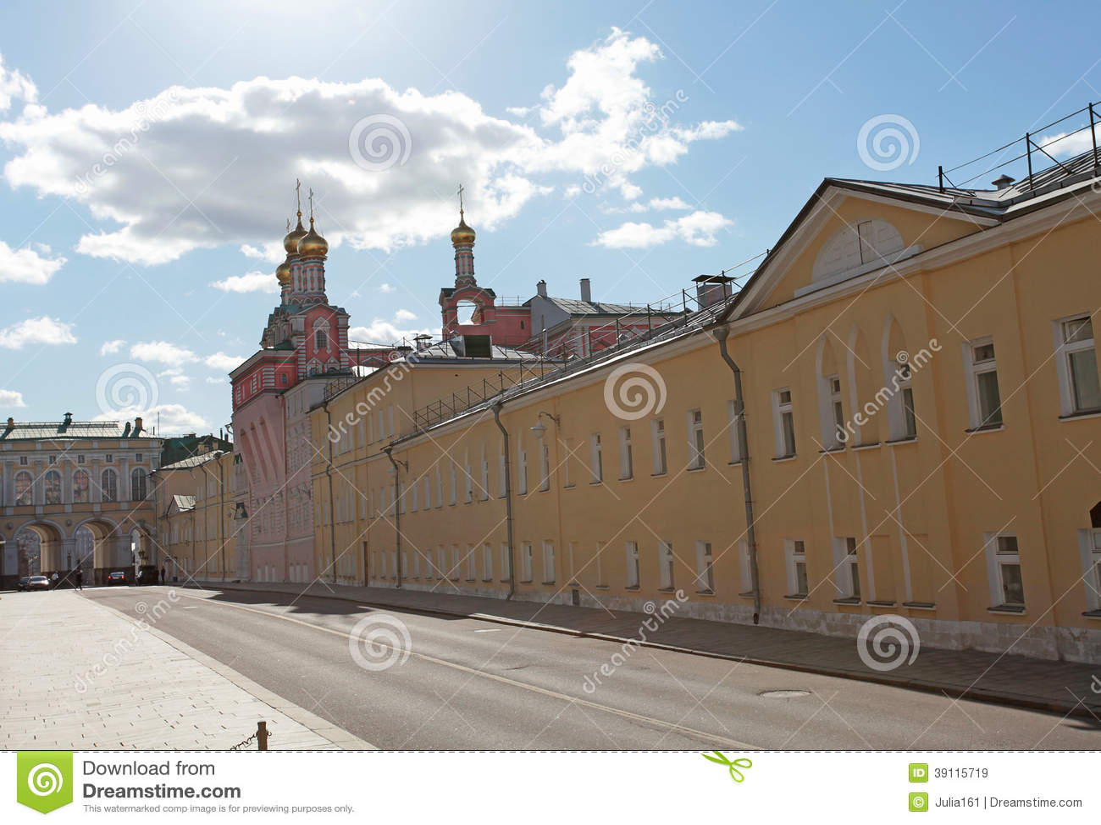 Kremlin de Moscou, o palácio do divertimento