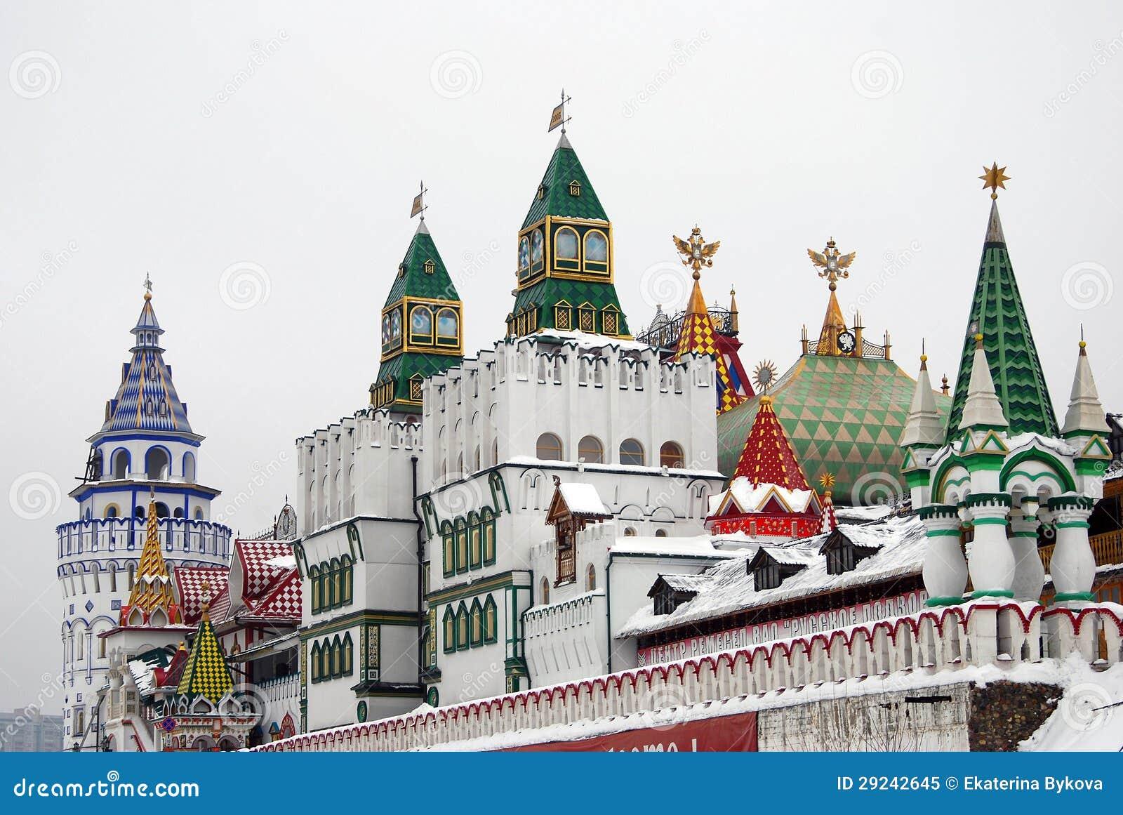 Kremlin em Izmailovo, Moscovo, Rússia