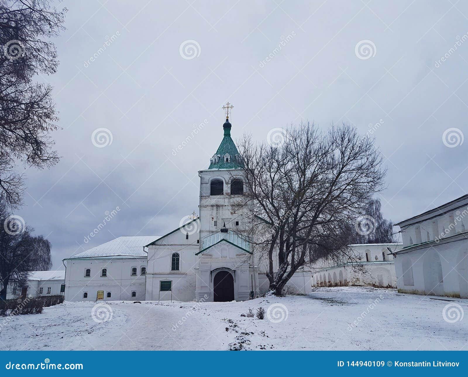 Kremlin et l ancienne résidence d Ivan le terrible dans le village d Alexandre Alexandrov, région de Vladimir, Russie
