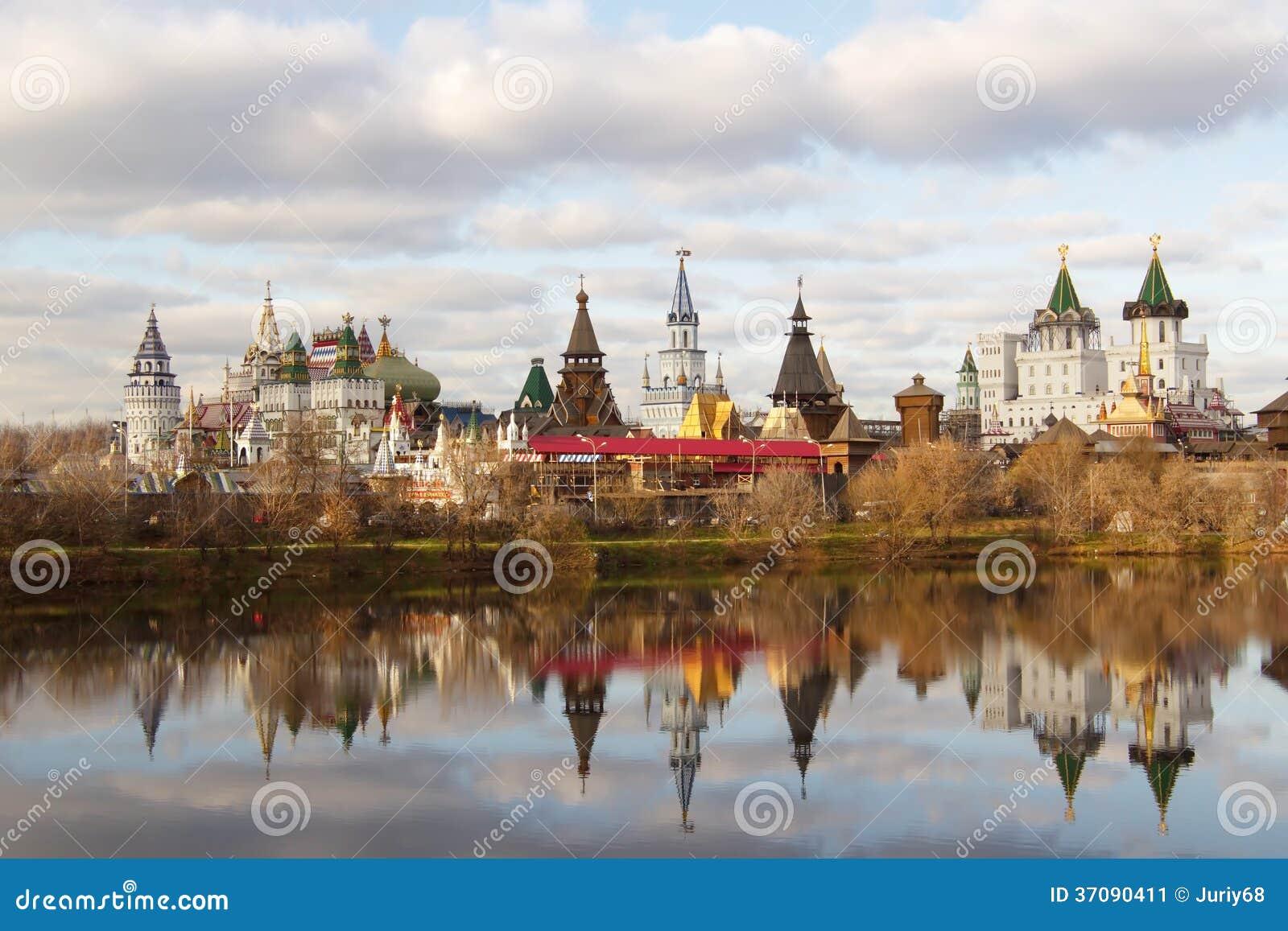 Download Kremlin Izmailovo obraz stock. Obraz złożonej z budynek - 37090411