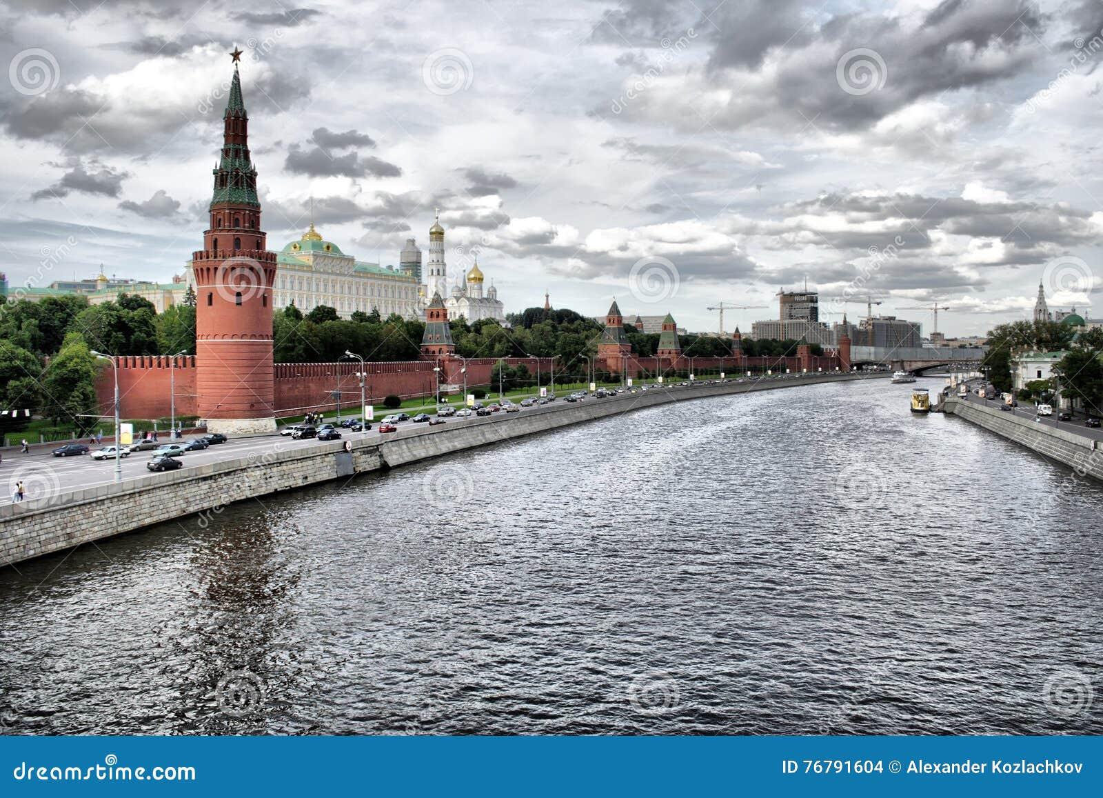 Kremlin Moscou, rio de Moscou, Rússia