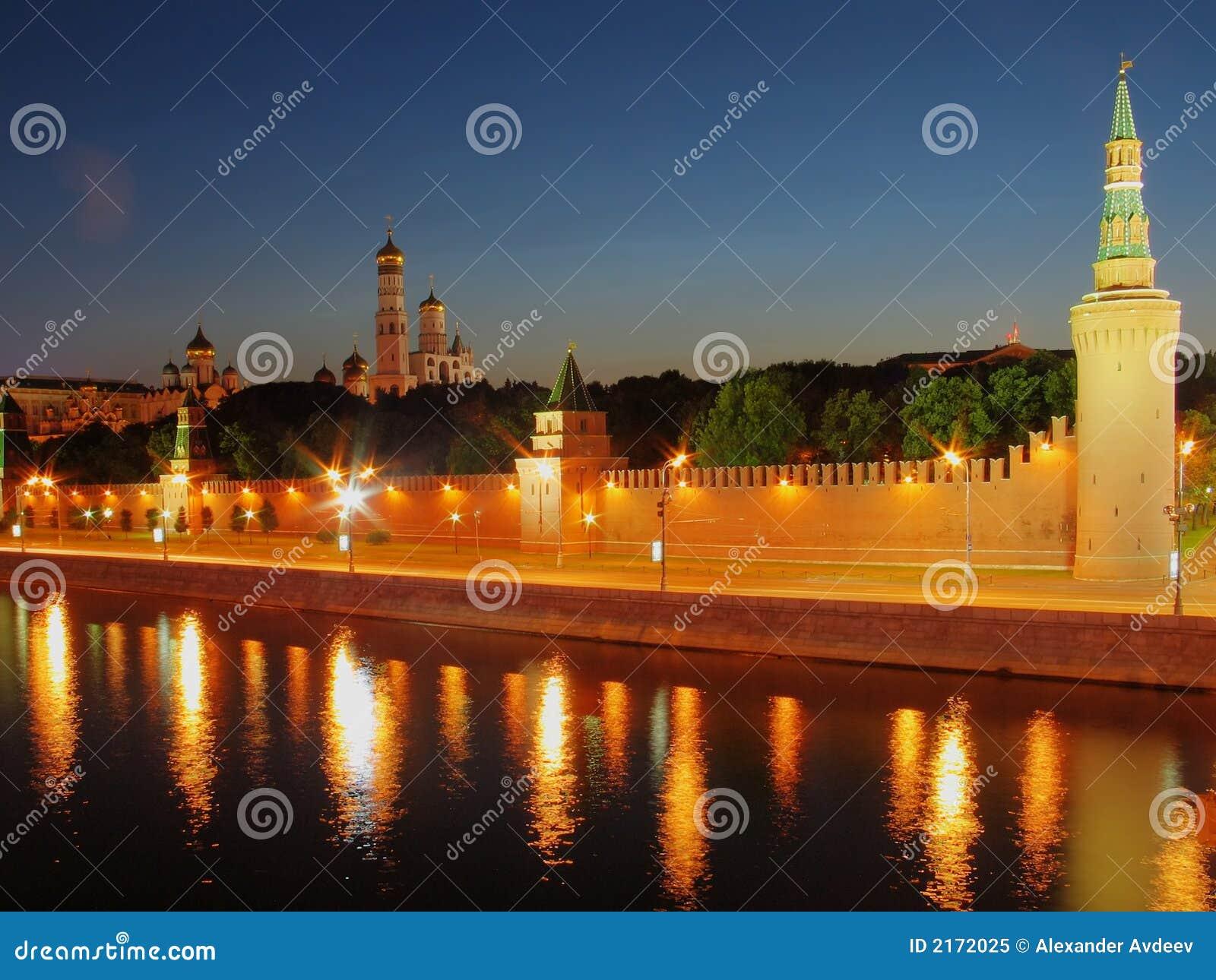 Kremlin moscow väggar