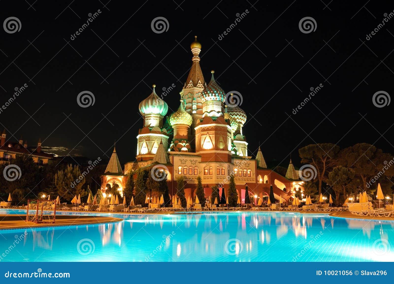 Kremlin style hotel antalya turkey stock photo image for Style hotel