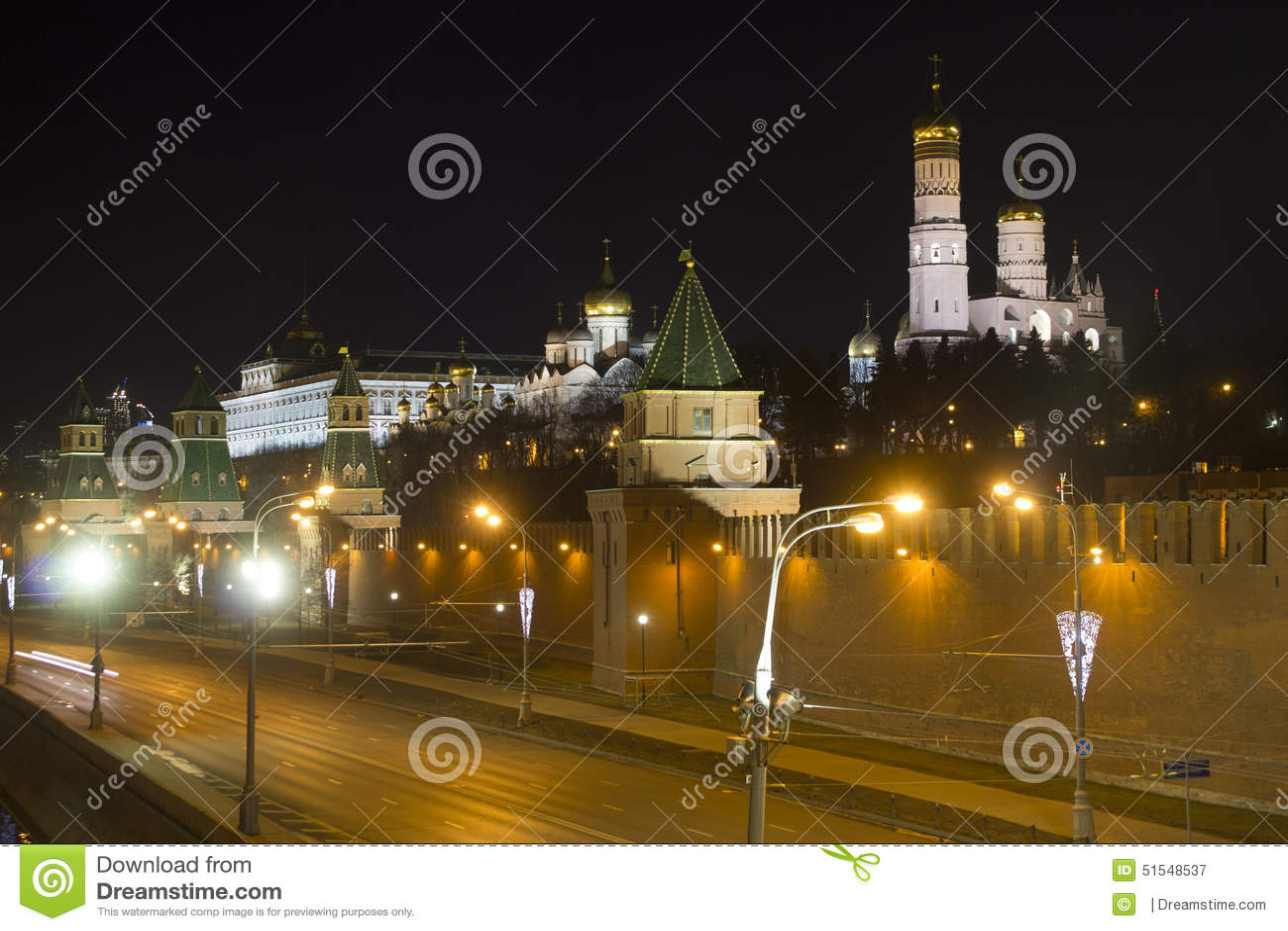 Kremlowski bulwar Rosja moscow
