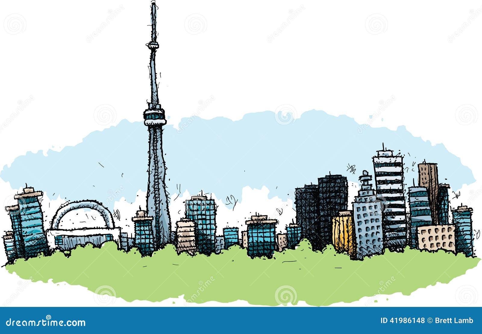 Kreskówka Toronto