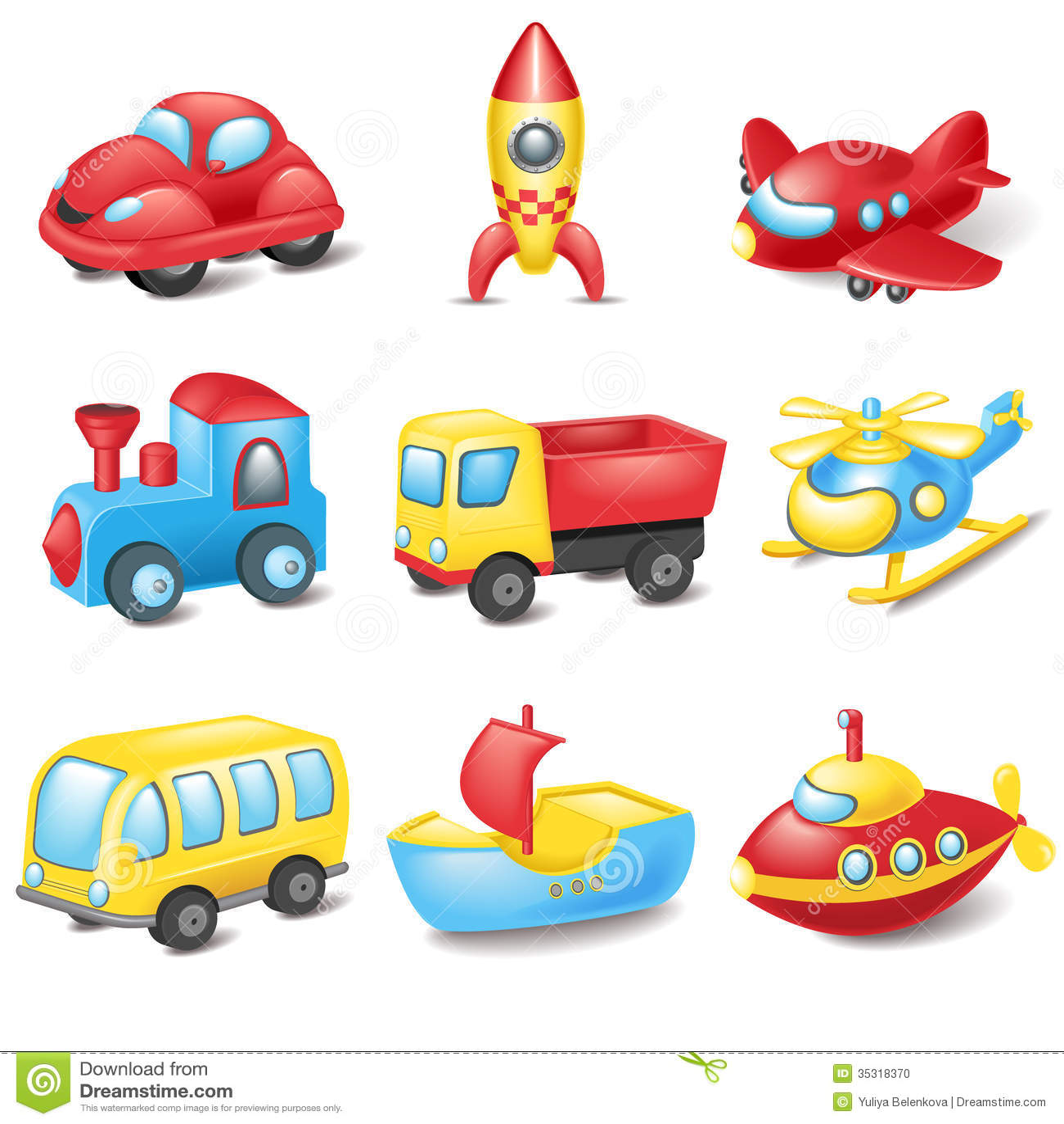 Kreskówka transport