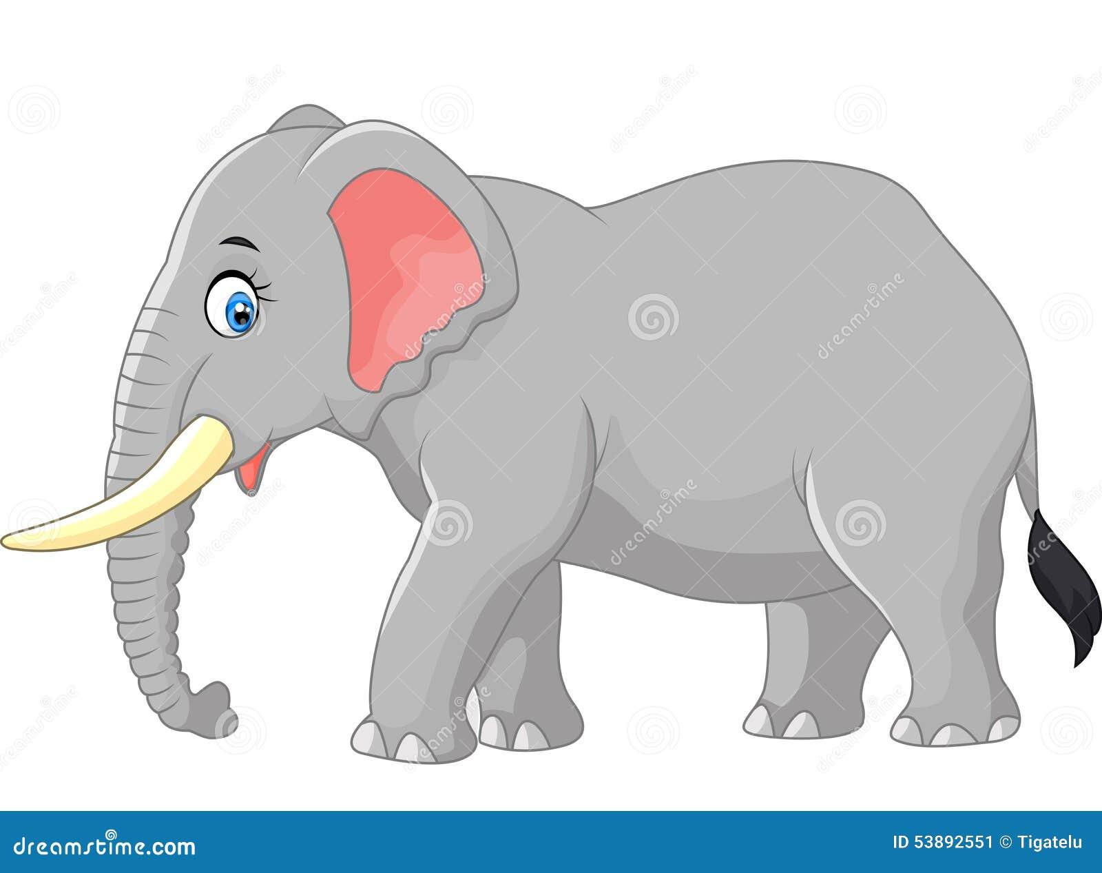 Kreskówki ampuły słoń