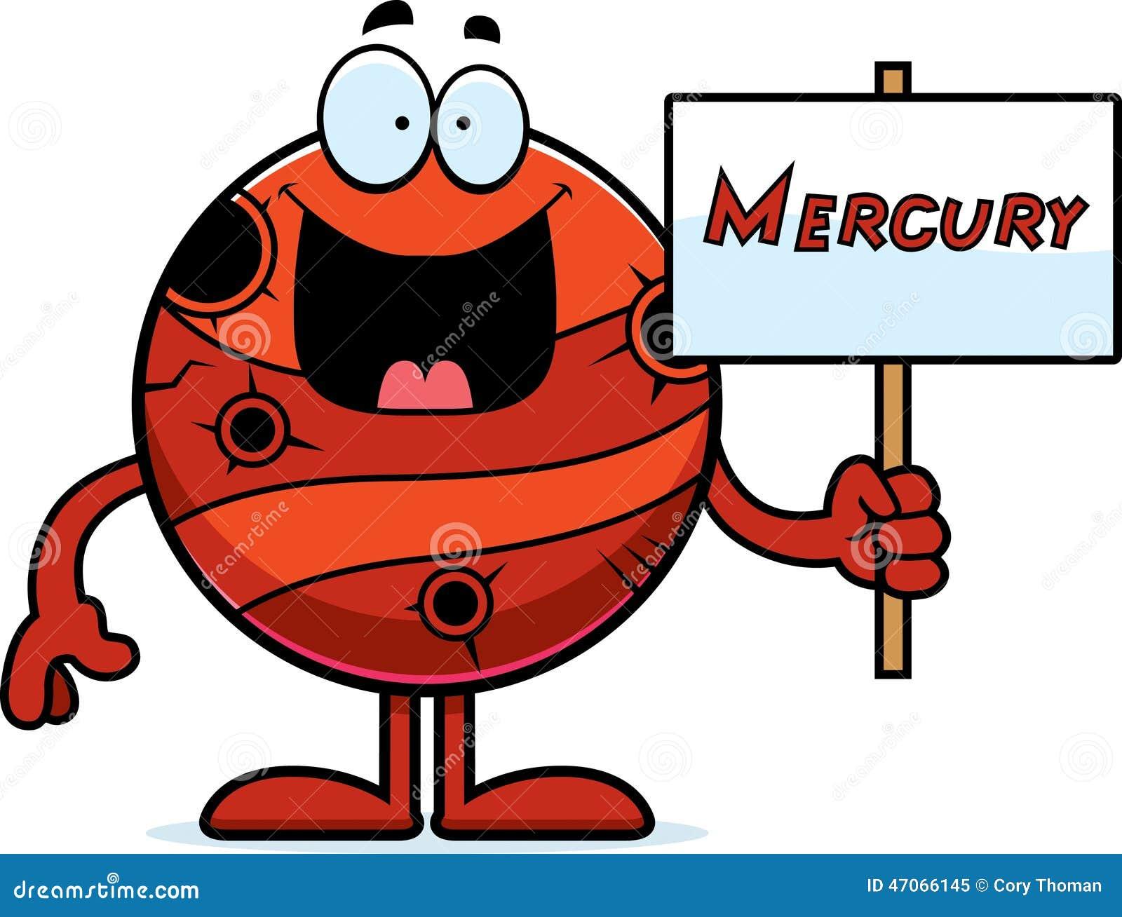 Kreskówki Mercury znak