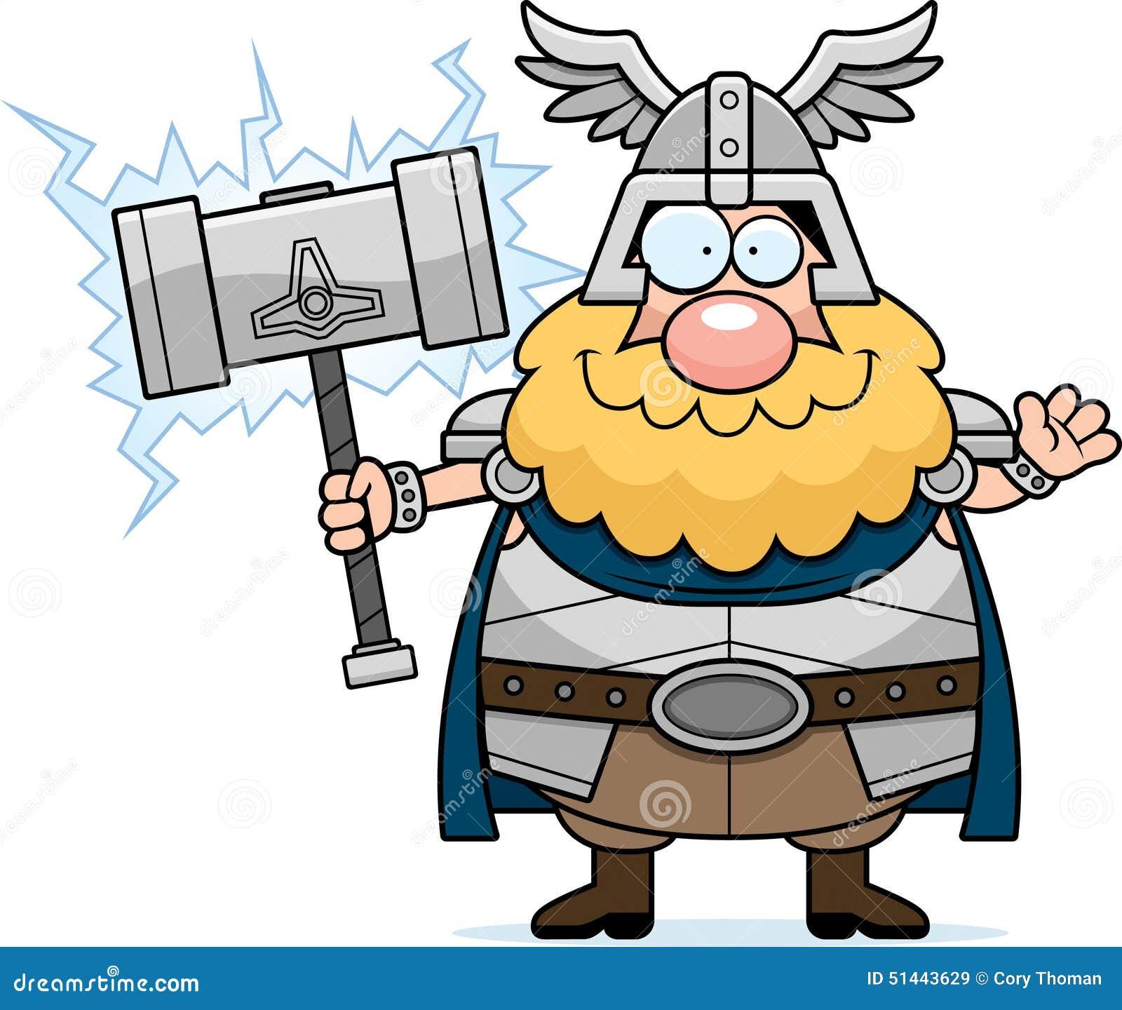 Kreskówki Thor falowanie