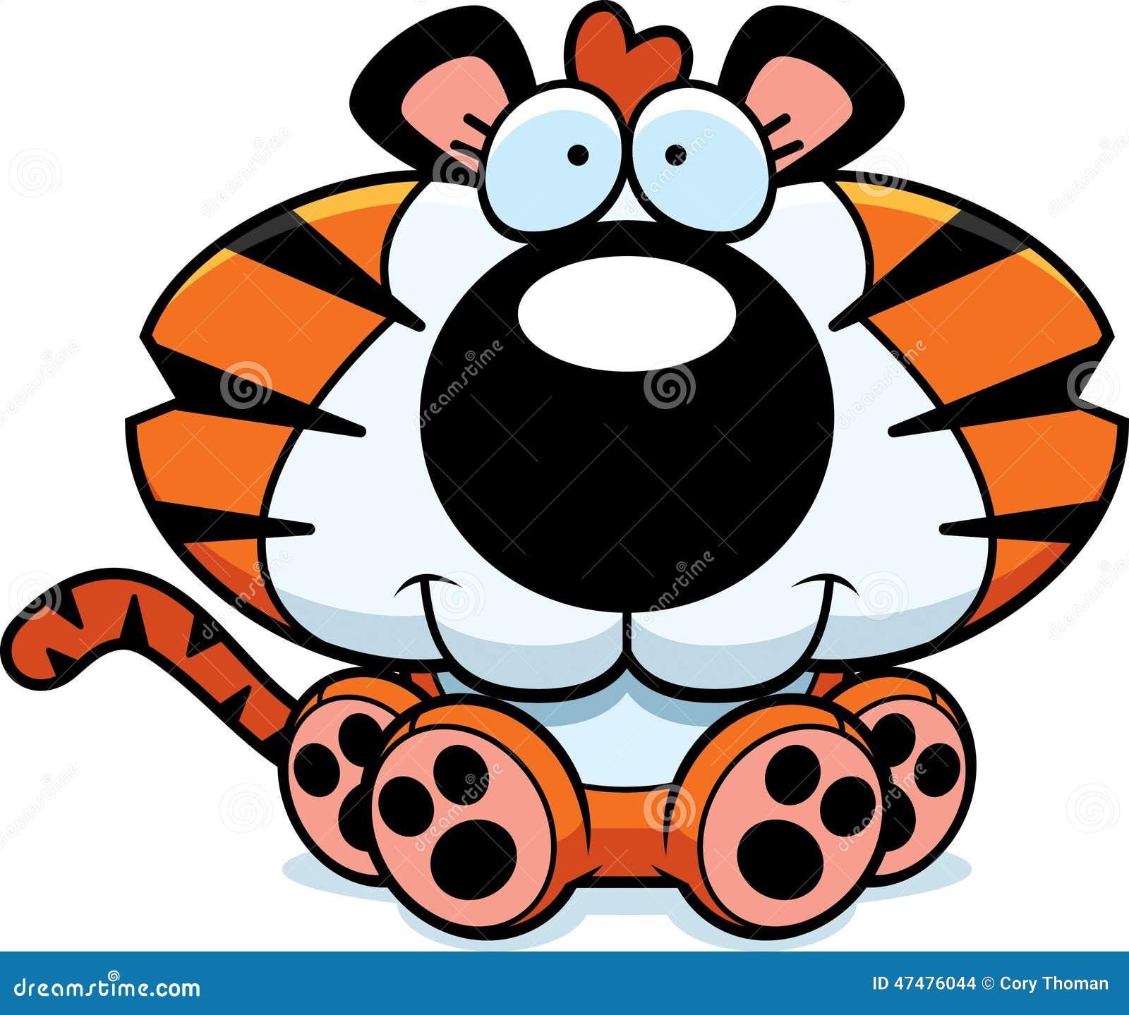Kreskówki Tygrysiego lisiątka obsiadanie