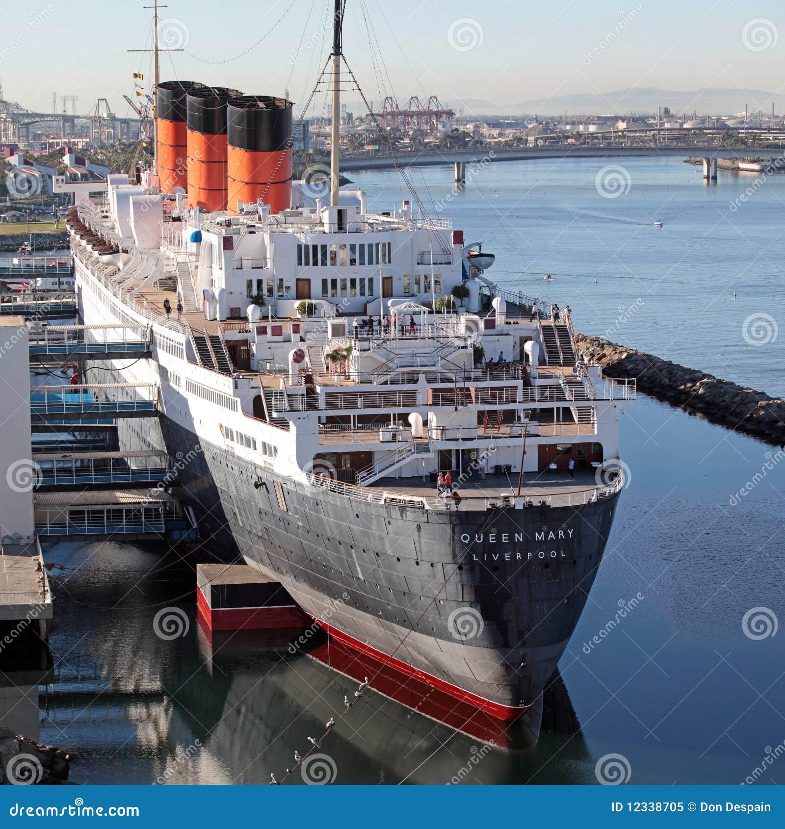 Kreuzschiff Der Königin Mary Im Dock Redaktionelles Bild Bild Von