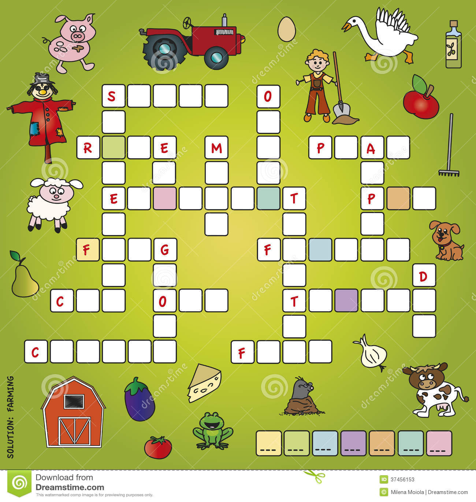 Schwierig Kreuzworträtsel