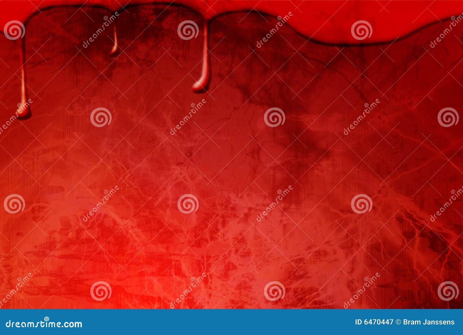Krew krople na czerwonym tle