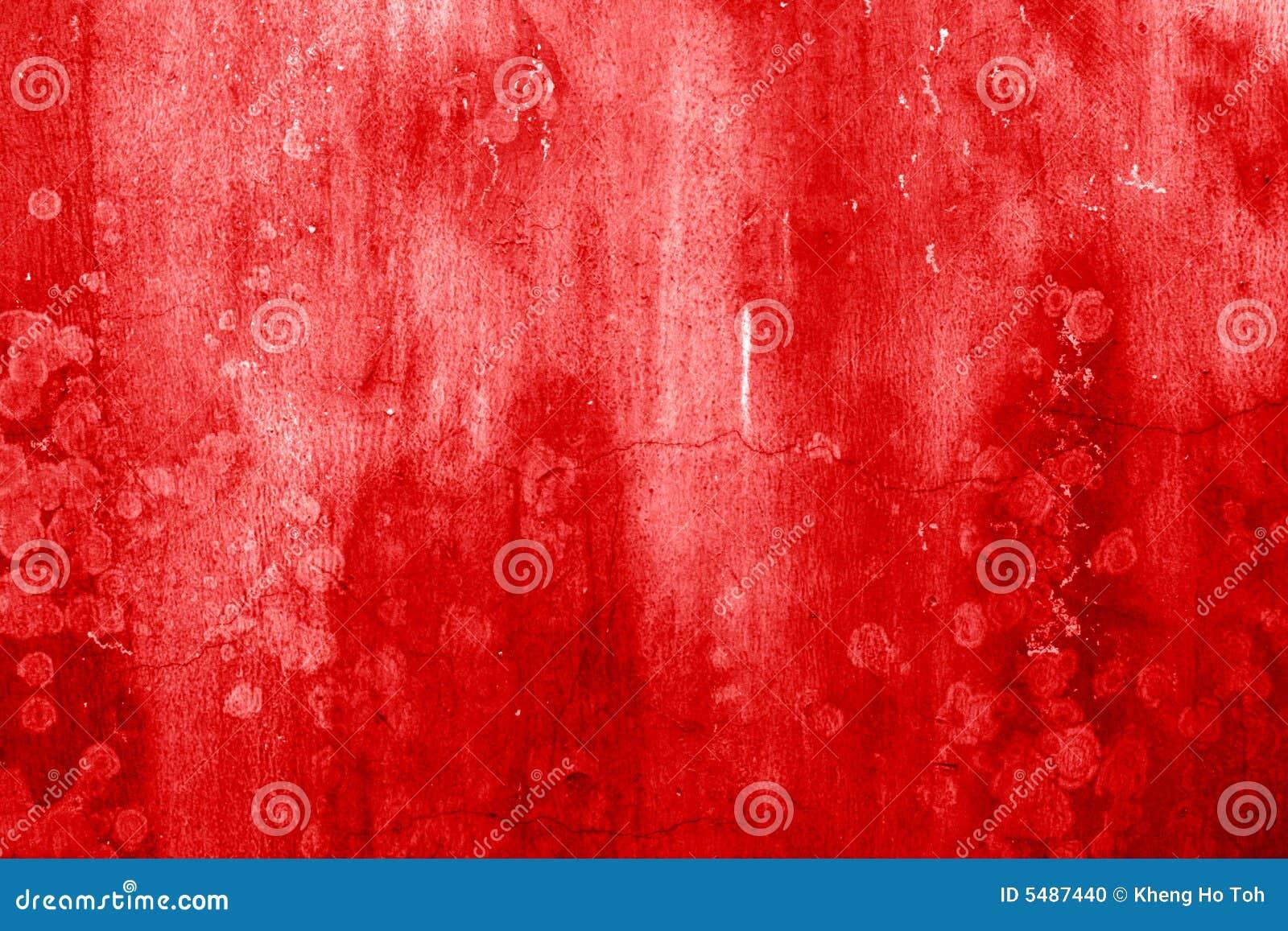 Krew plamiąca ściany