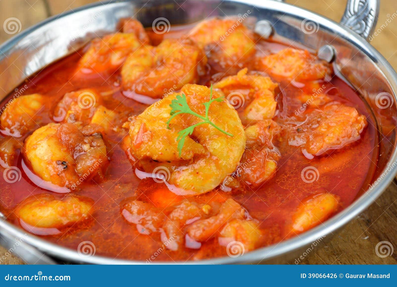 Krewetka curry