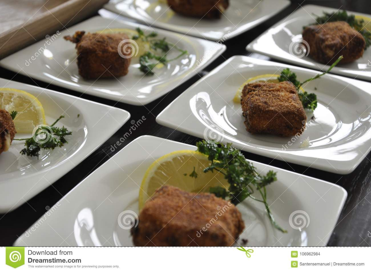 Krewetkowi croquettes