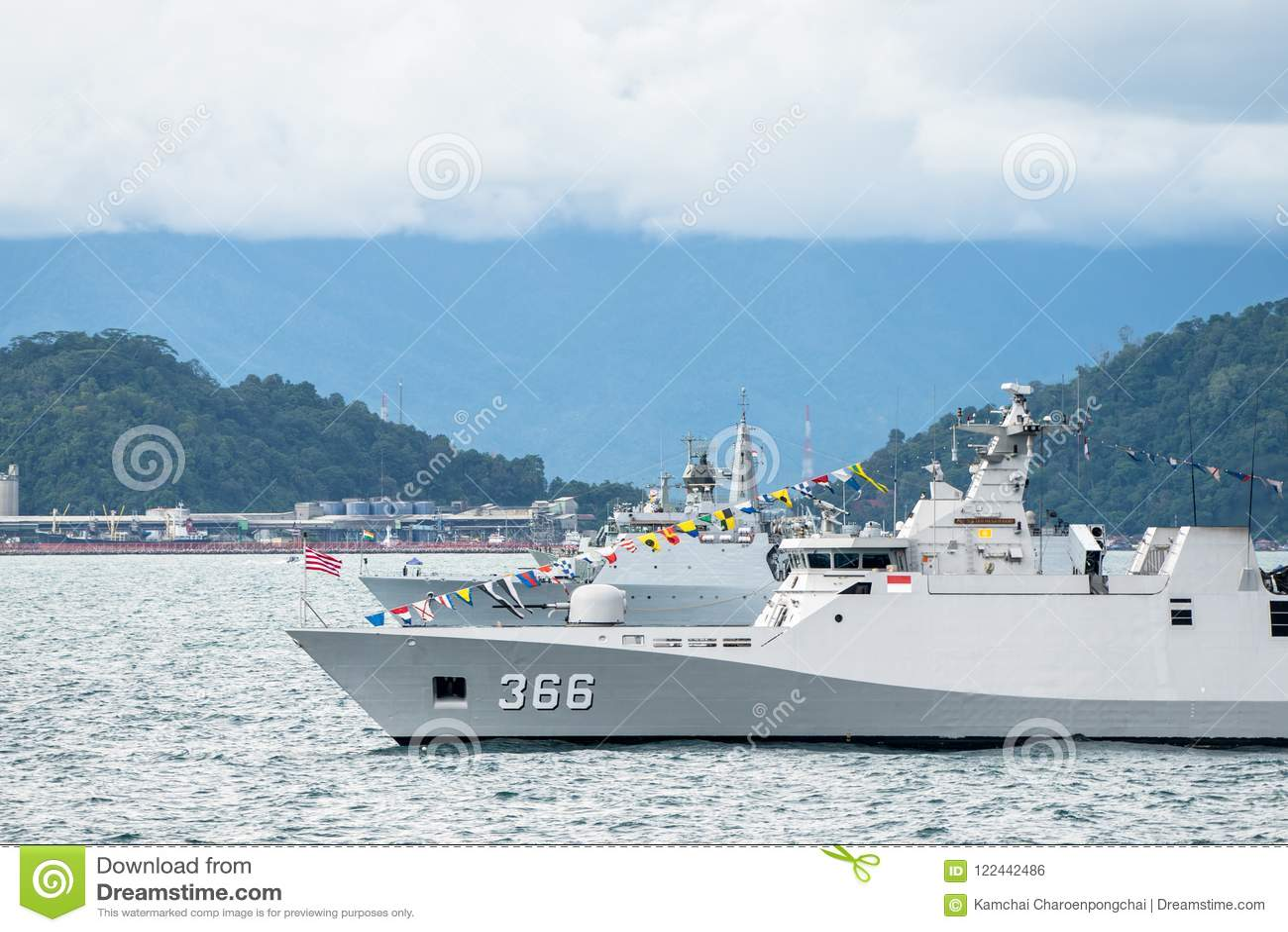 KRI Sultan Hasanuddin 366, corvetta della classe di sigma di marina indonesiana
