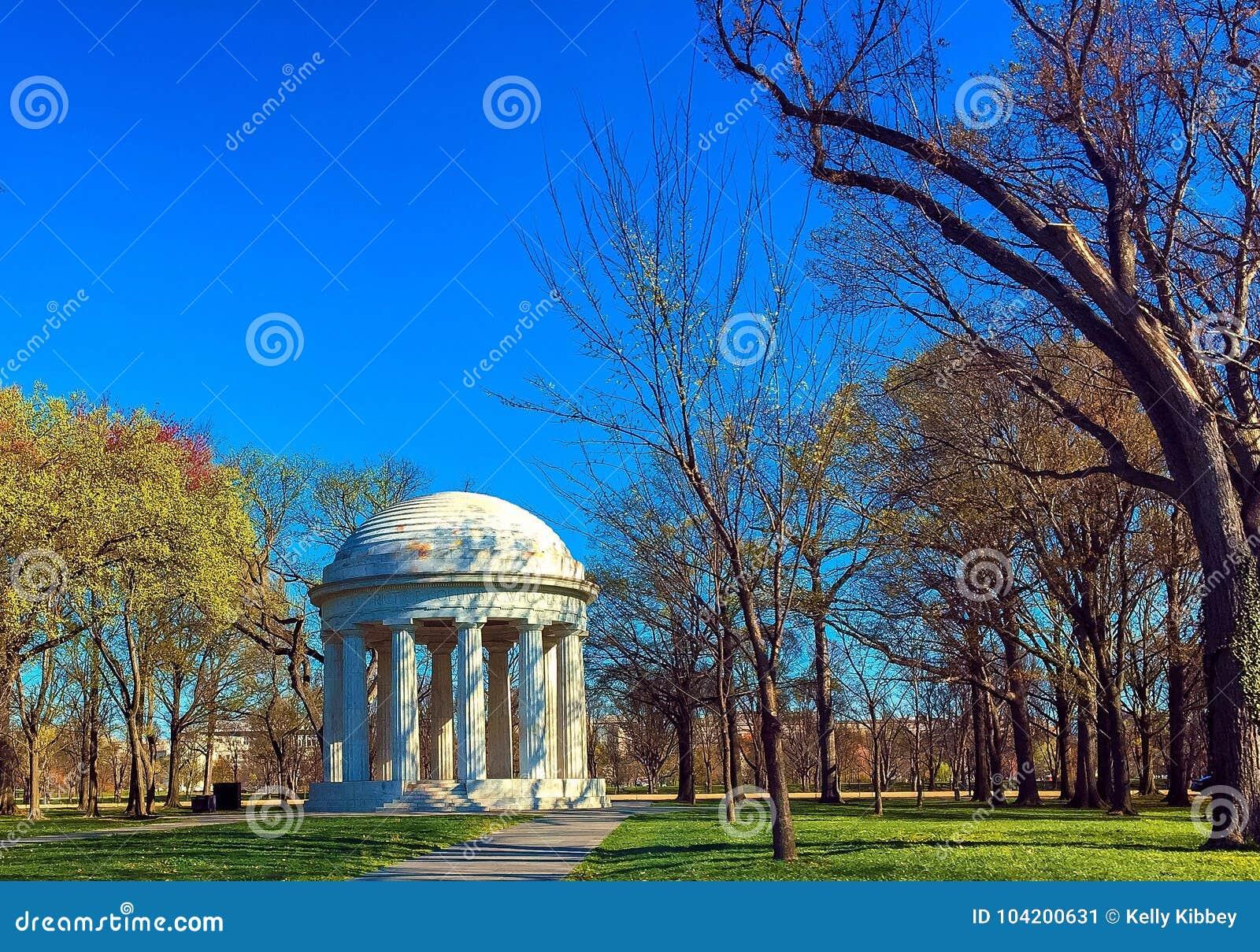 KRIGMINNESMÄRKEN, WASHINGTON DC