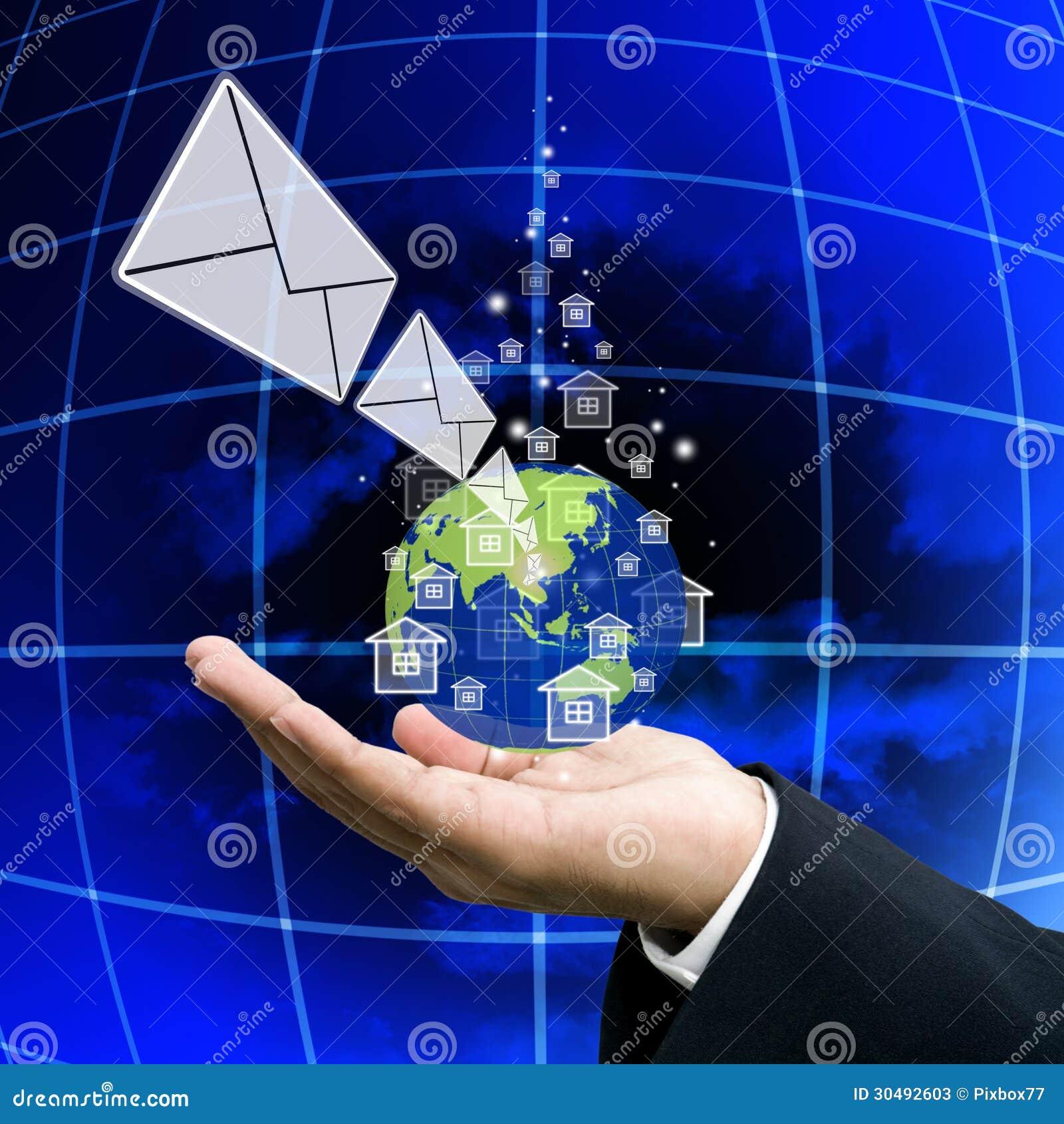 Krijg het nieuws van netwerk, Globalisering