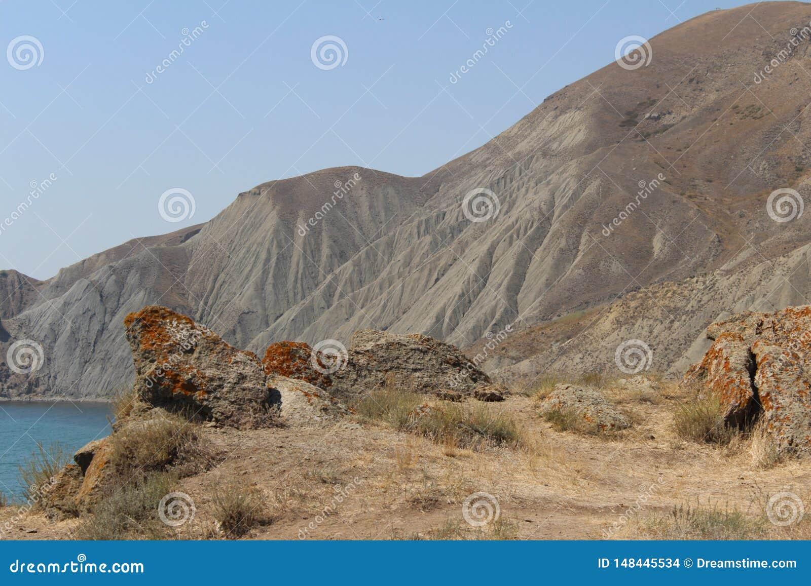 Krim bergen in de zomer