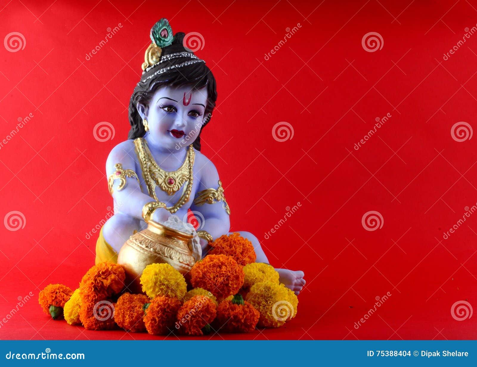 Krishna hinduskiego boga