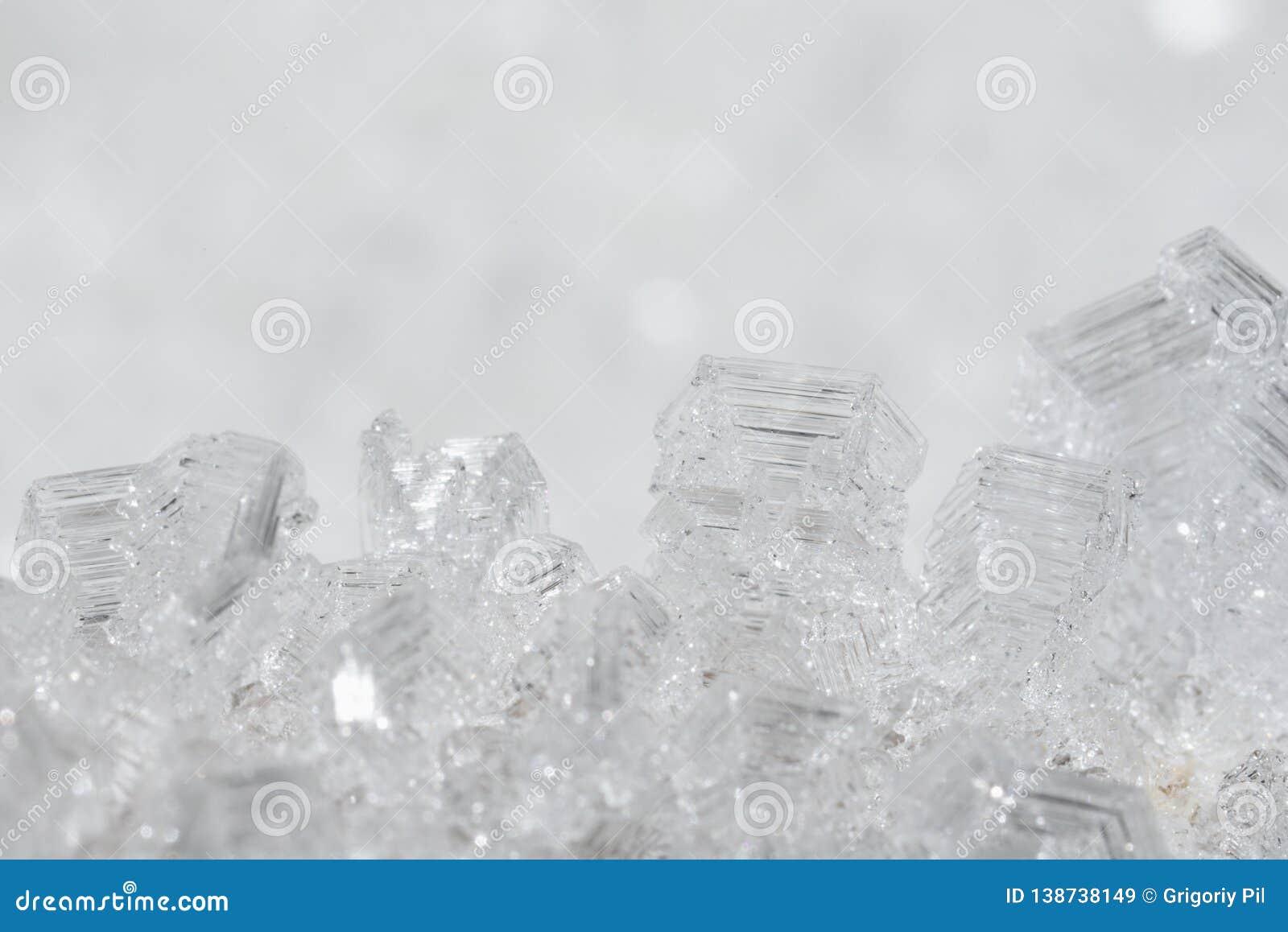 Kristallen van ijs