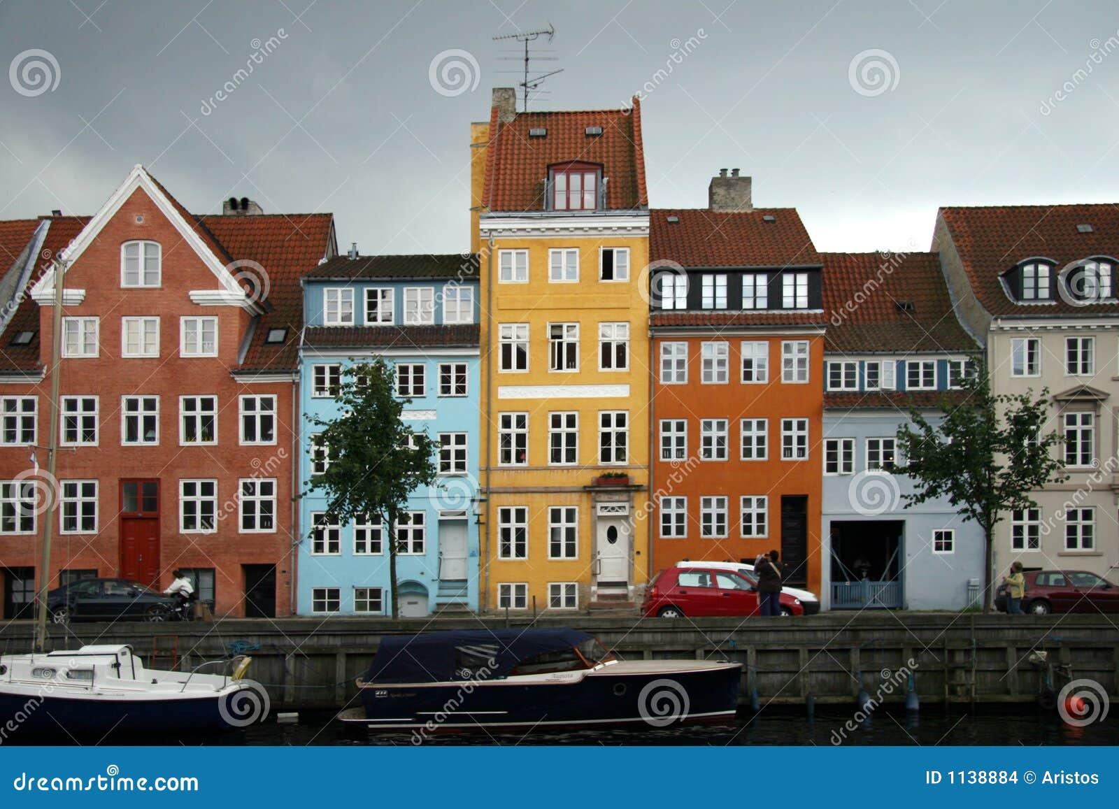 Kristianshavn Copenhagen Denmark Stock Photo Image