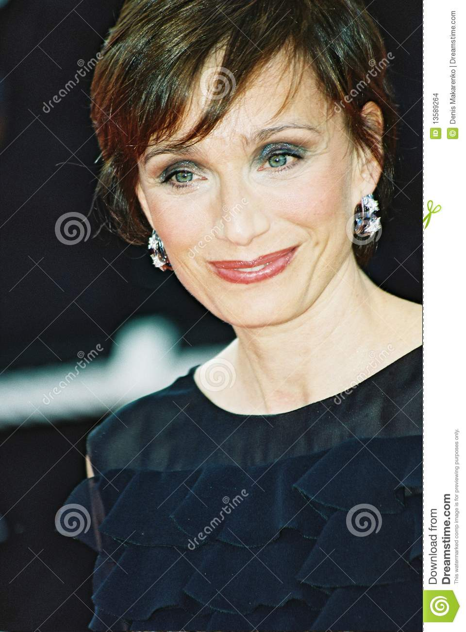 Kristin Scott Thomas Redactionele Stock Afbeelding - kristin-scott-thomas-13589264