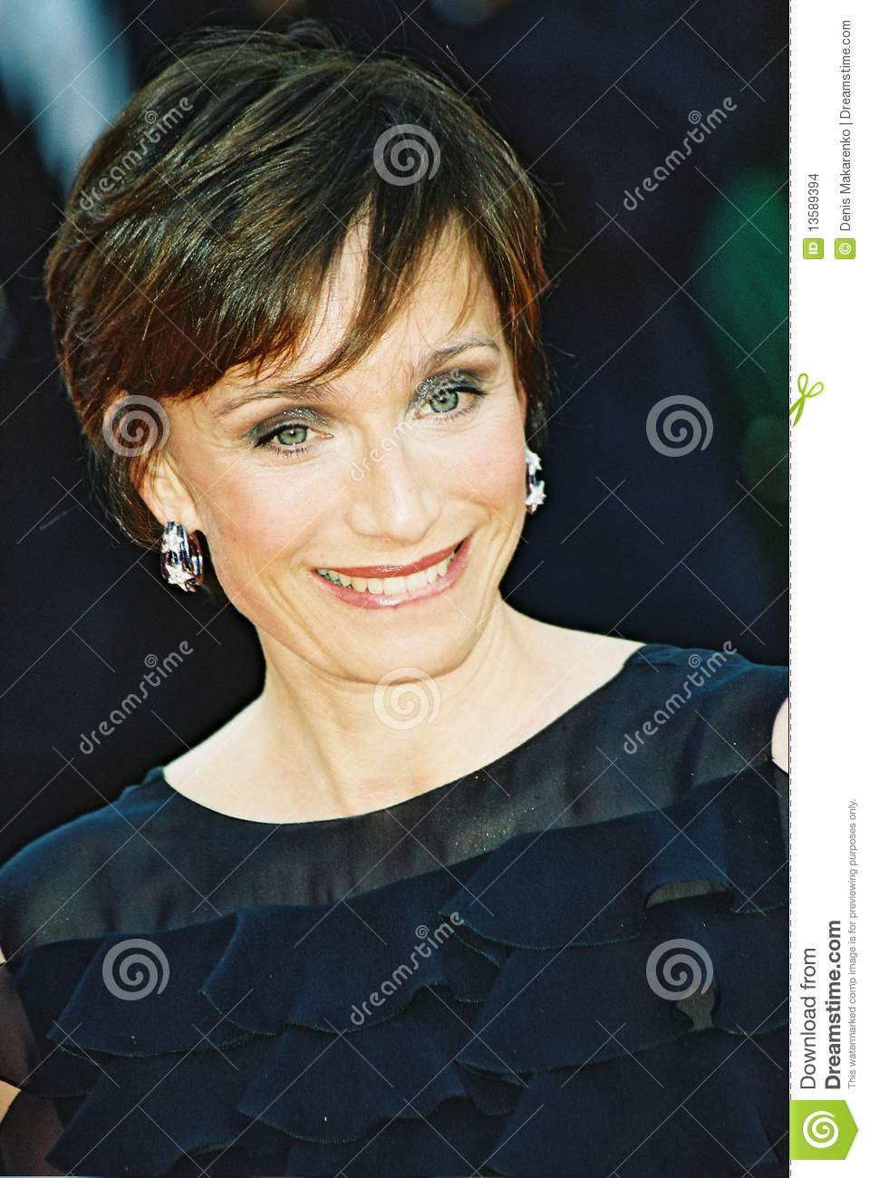 Kristin Scott Thomas Redactionele Stock Afbeelding - kristin-scott-thomas-13589394