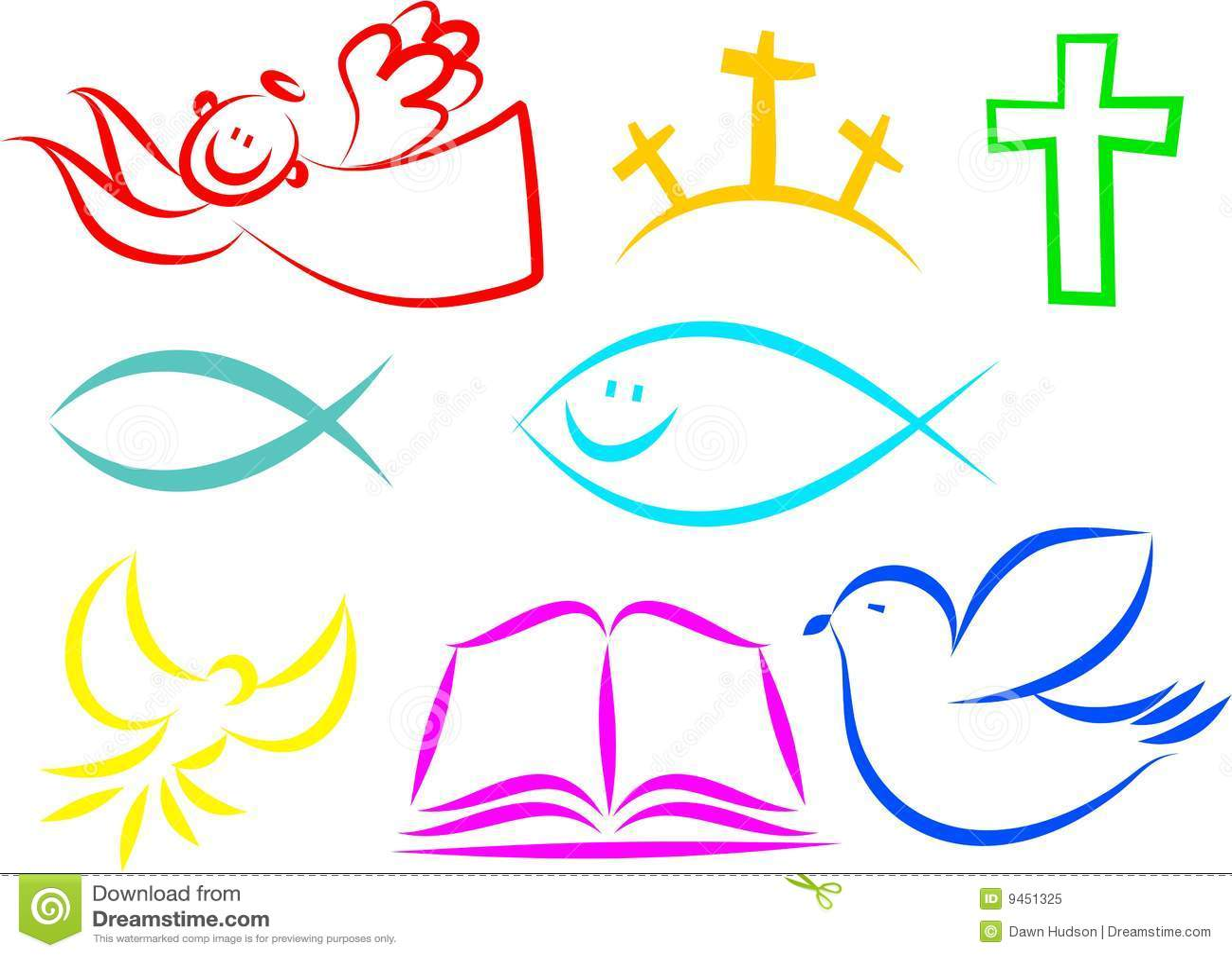 Kristna Symboler Royaltyfri Foto - Bild: 9451325